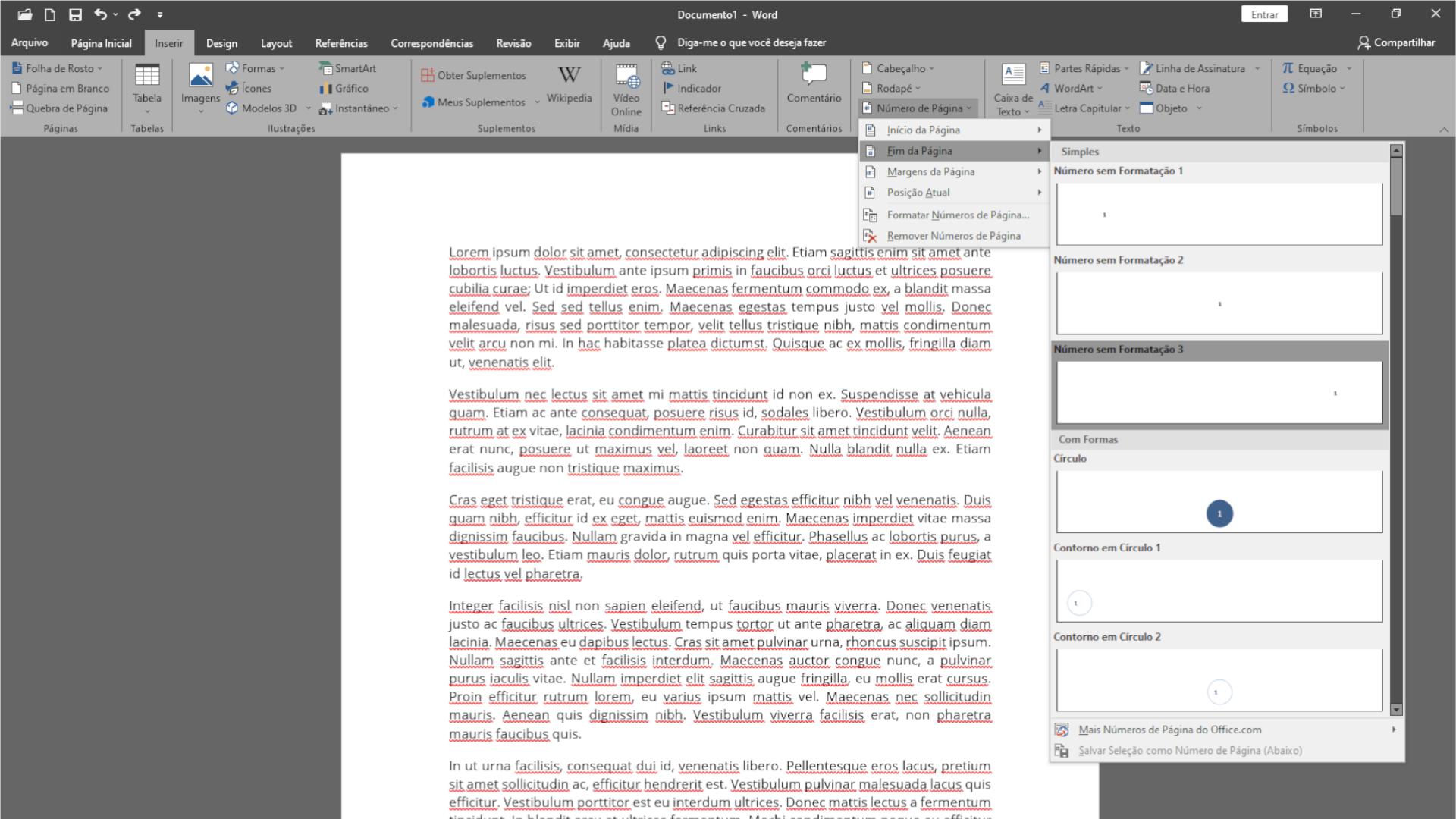 Você pode numerar páginas no Word em poucos passos (Foto: Reprodução/Zoom)