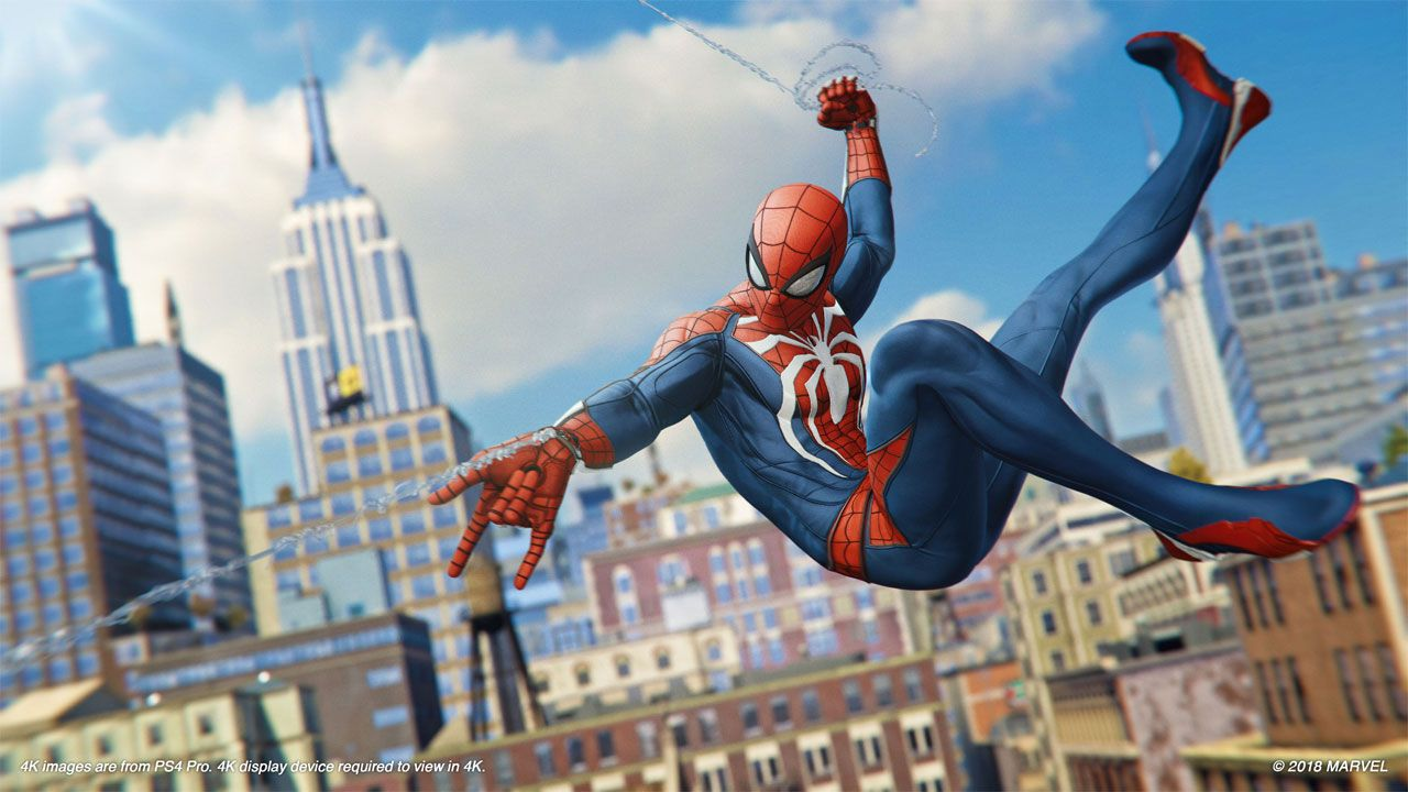 Spider-Man do PlayStation 4 e PlayStation 5 é um dos jogos mais impressionantes do Homem-Aranha (Reprodução: Insomniac Games)