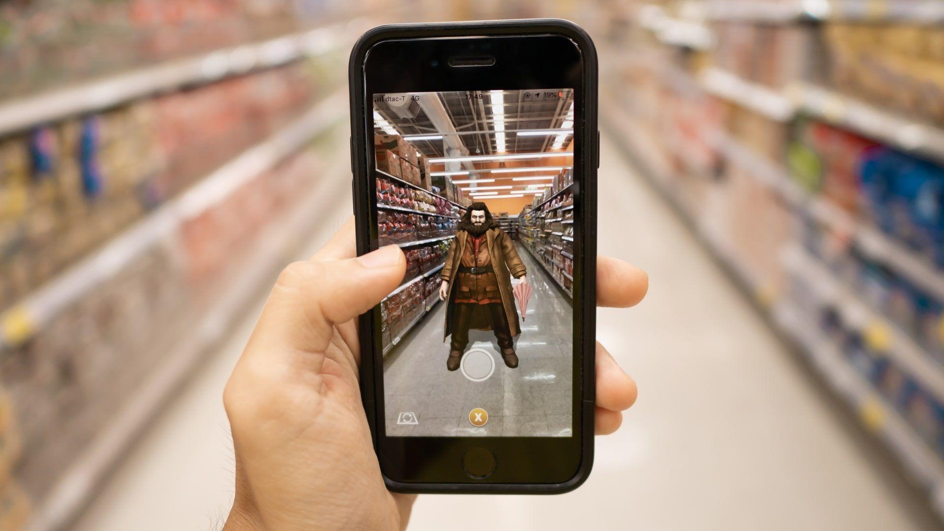 Harry Potter usa realidade aumentada e está entre os melhores jogos para celular (Foto: Shutterstock)