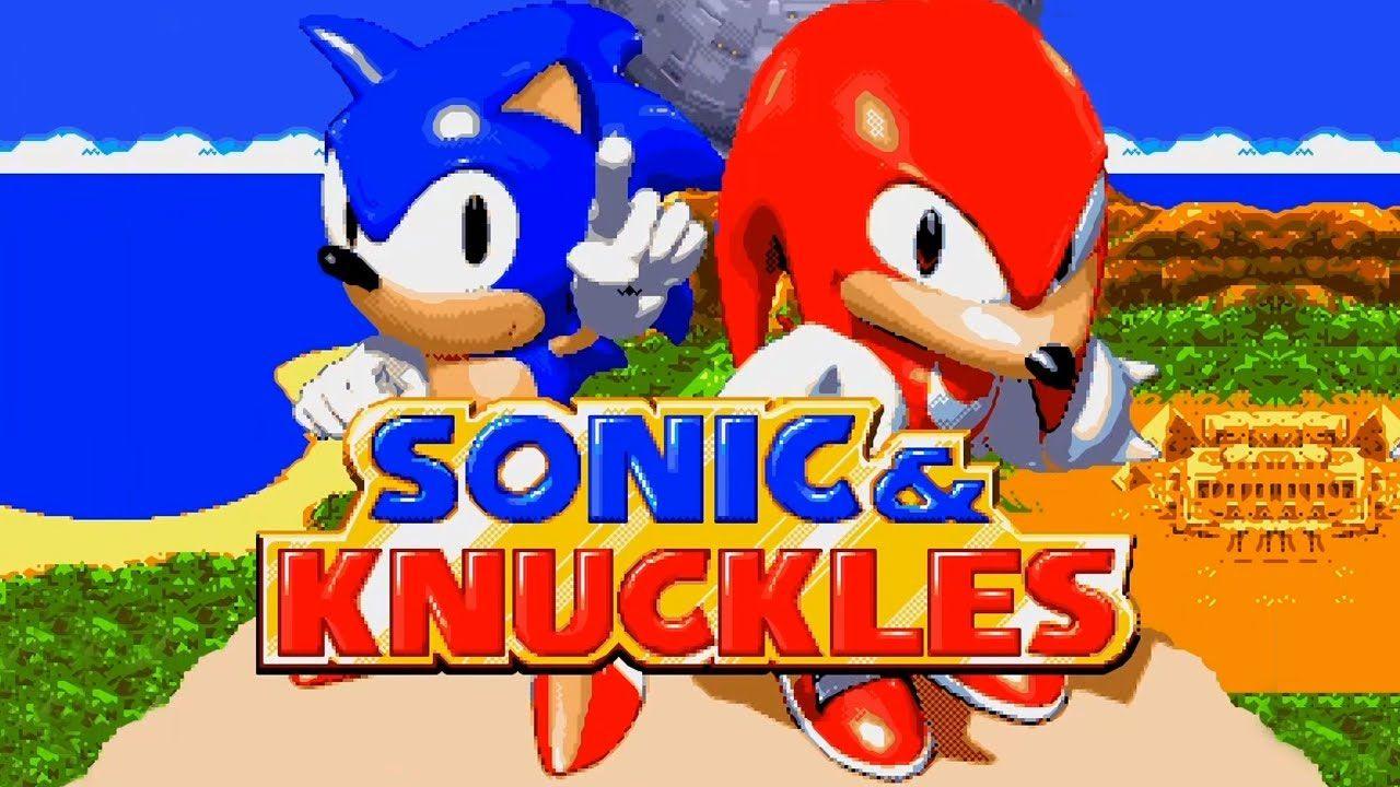 Knuckles apareceu em um jogo do Sonic pela primeira vez em Sonic the Hedgehog 3, mas só se tornou jogável em Sonic & Knuckles (Reprodução: RetroGame.stream)