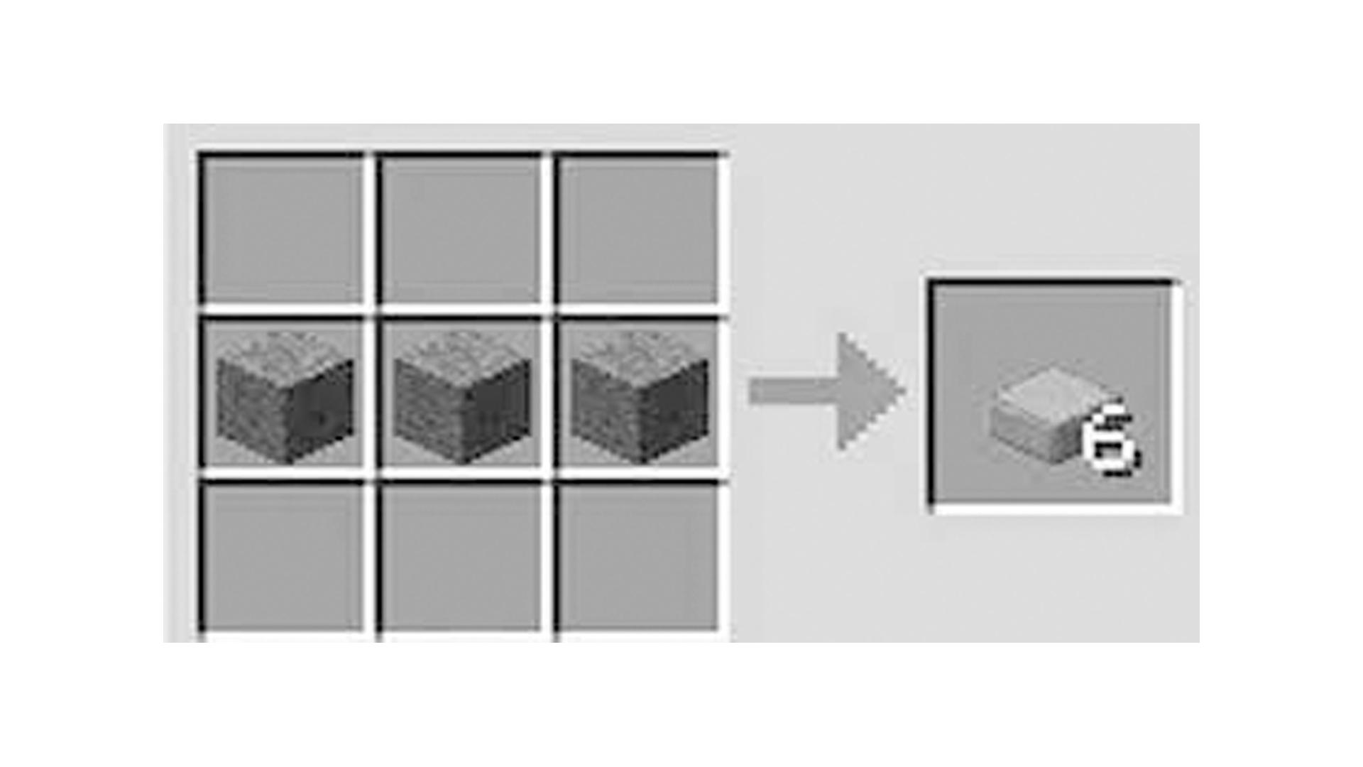 Veja como fazer Laje com Pedra Lisa no Minecraft (Foto/Hugo Iwaasa)