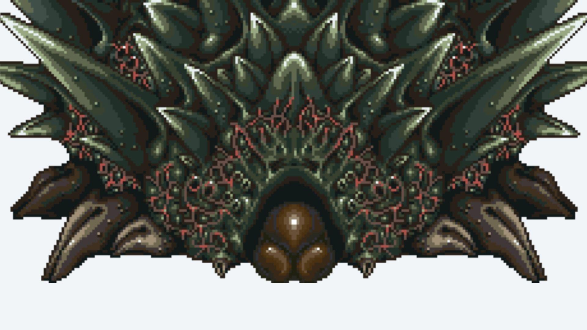 Lavos é um alienígena e principal vilão o jogo (Foto: Divulgação/Square Enix)