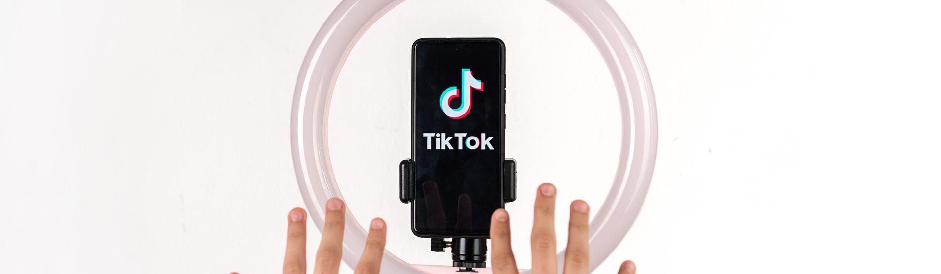 Como fazer live no TikTok