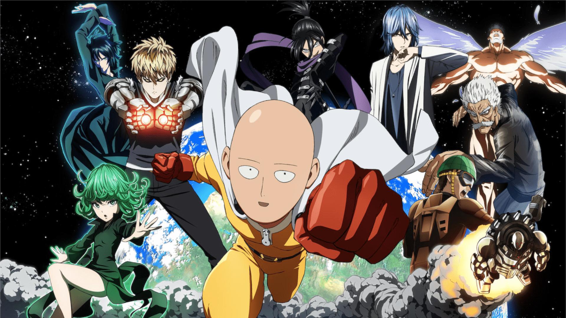 One Punch Man é um anime de paródia de super-heróis que une comédia e ação (Foto: Divulgação/Netflix)