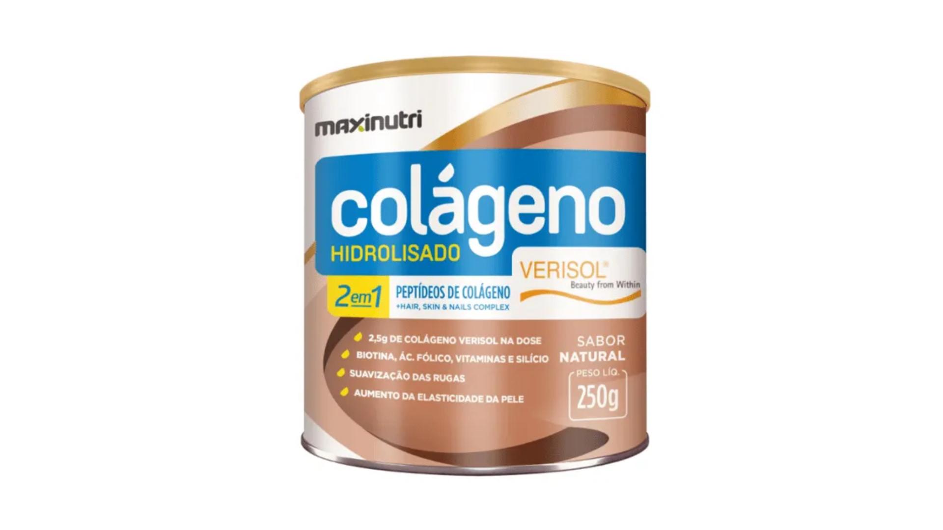 Colágeno hidrolisado Maxinutri (Imagem: Divulgação/Maxinutri)