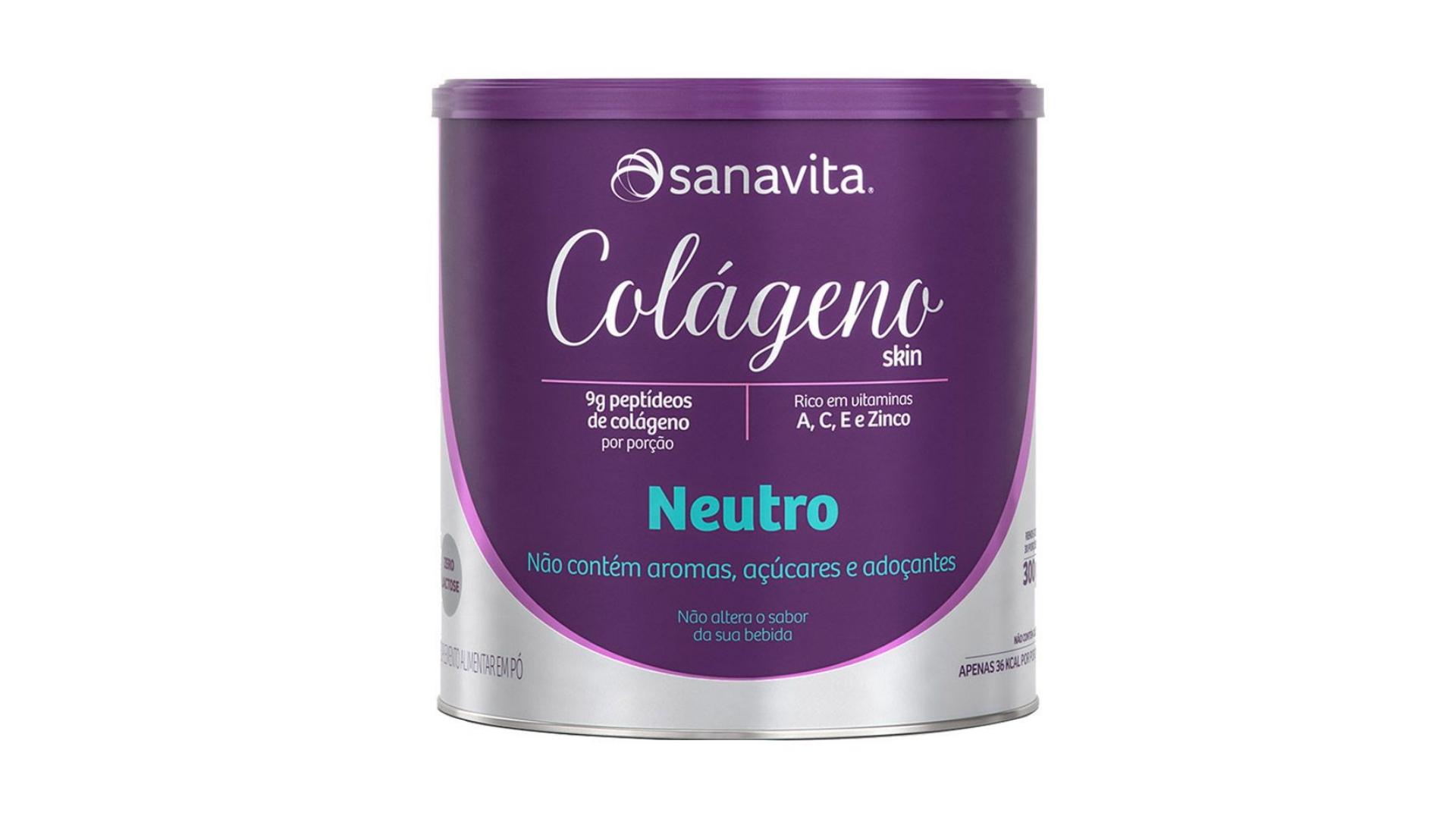 Colágeno hidrolisado Sanavita (Imagem: Divulgação/Sanavita)
