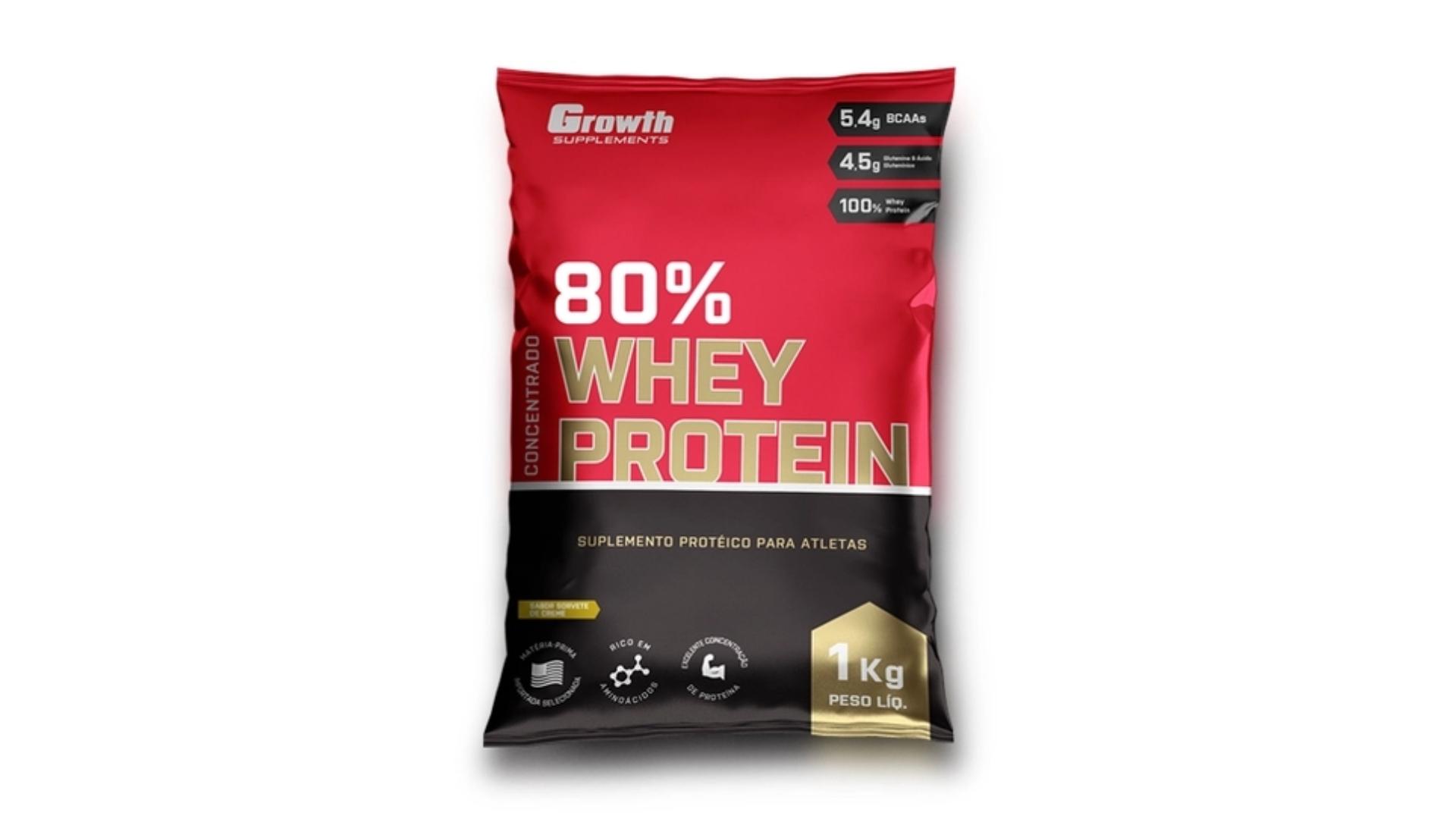 Whey Protein Growth Supplements (Imagem: Divulgação/Growth Supplements)