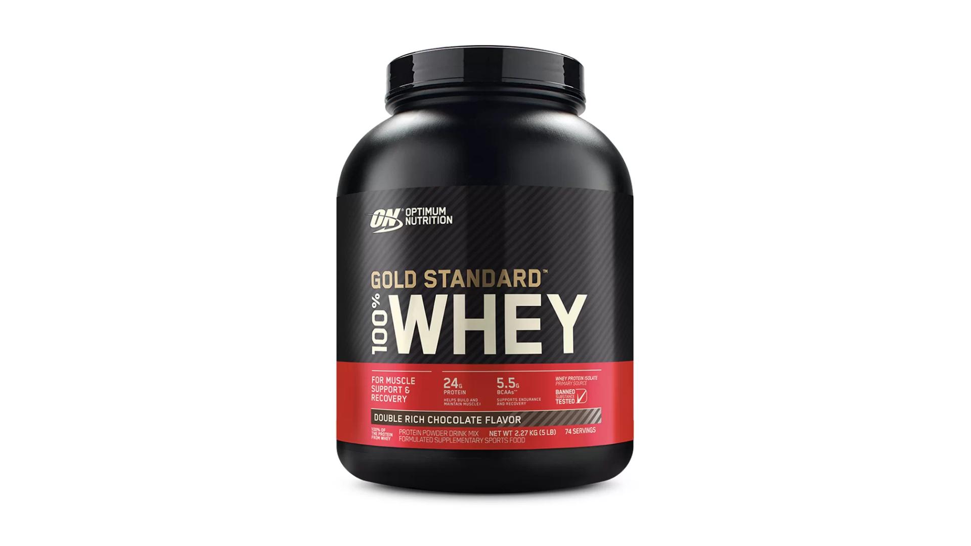 Whey Protein Optimum Nutrition (Imagem: Divulgação/Optimum Nutrition)