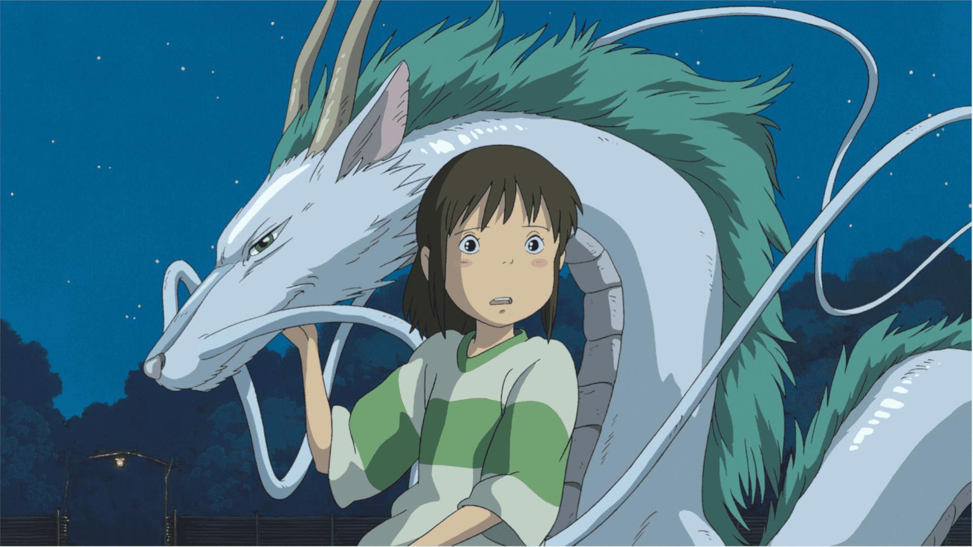 A Viagem de Chihiro é o primeiro filme de língua não-inglesa a vencer o Oscar de melhor animação (Foto: Divulgação/Netflix)