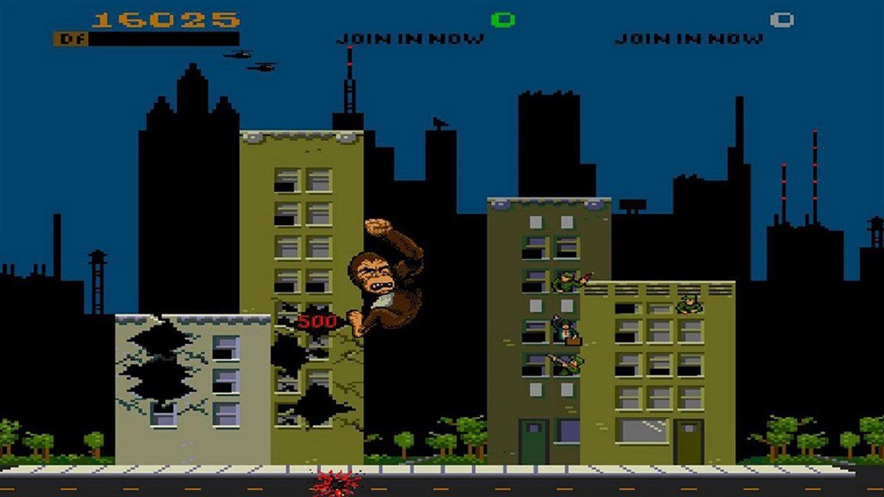Midway Arcade Origins traz vários jogos clássicos dos fliperamas da Midway, como Rampage (foto), Joust, Smash TV e mais (Reprodução: Xbox Games Store)