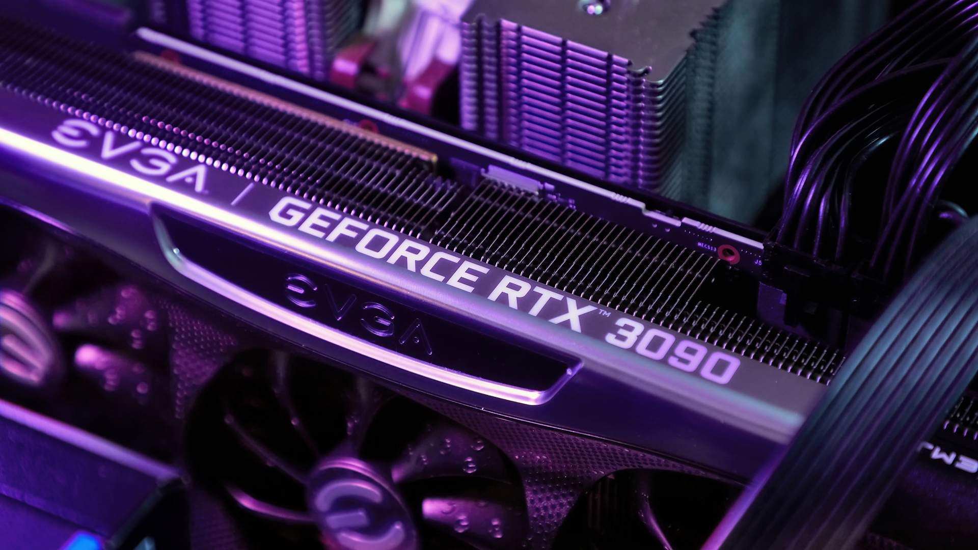 Placa de vídeo GeForce RTX 3090 da EVGA