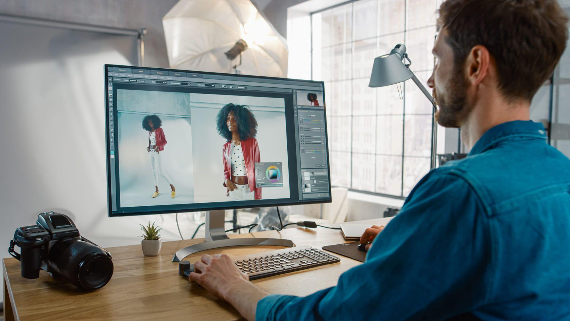 Confira as melhores opções de monitor 75Hz (Foto: Shutterstock)