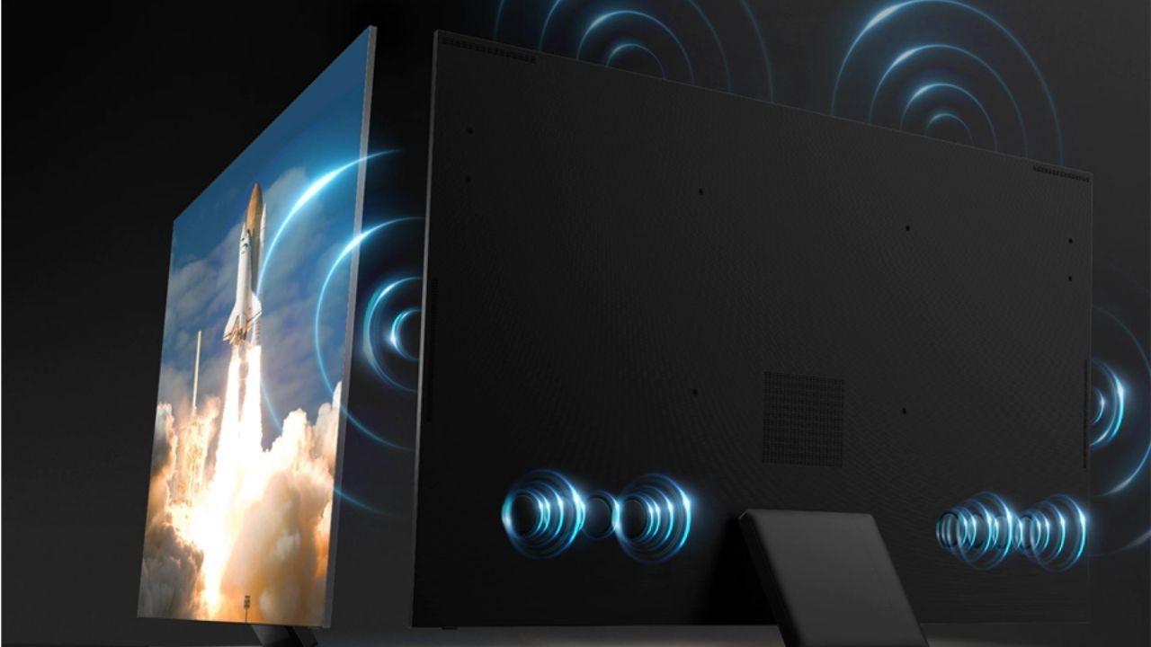 A tecnologia Som em Movimento melhora a experiência das TVs Neo QLED (Foto: Divulgação/Samsung)