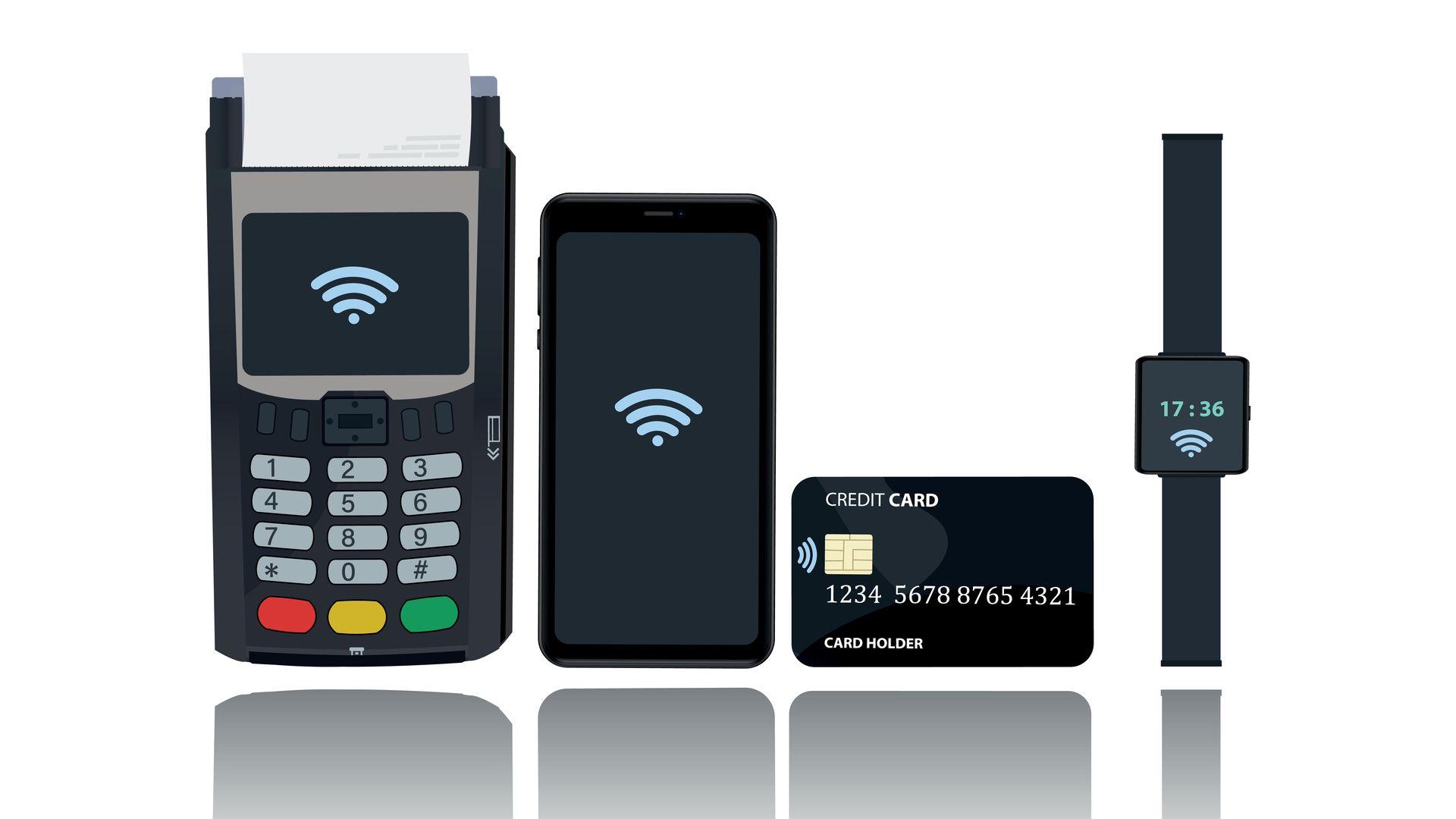 NFC é uma tecnologia presente em vários dispositivos (Foto: Shutterstock)