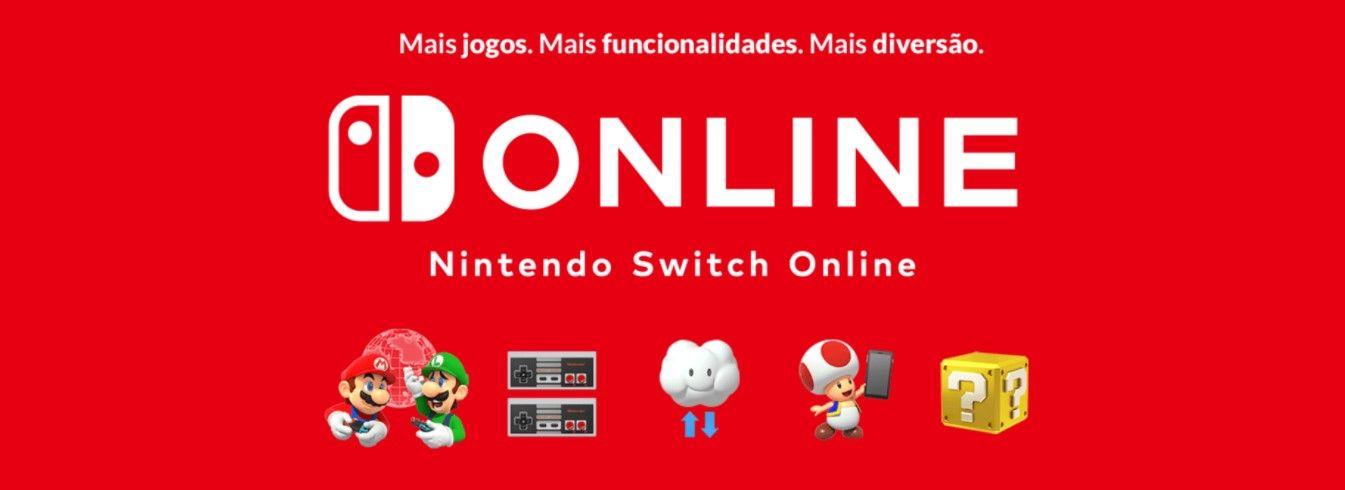Além dos jogos do próprio console, o Nintendo Switch Online te dá acesso a um catálogo de clássicos do NES e SNES (Fonte: Divulgação/Nintendo)