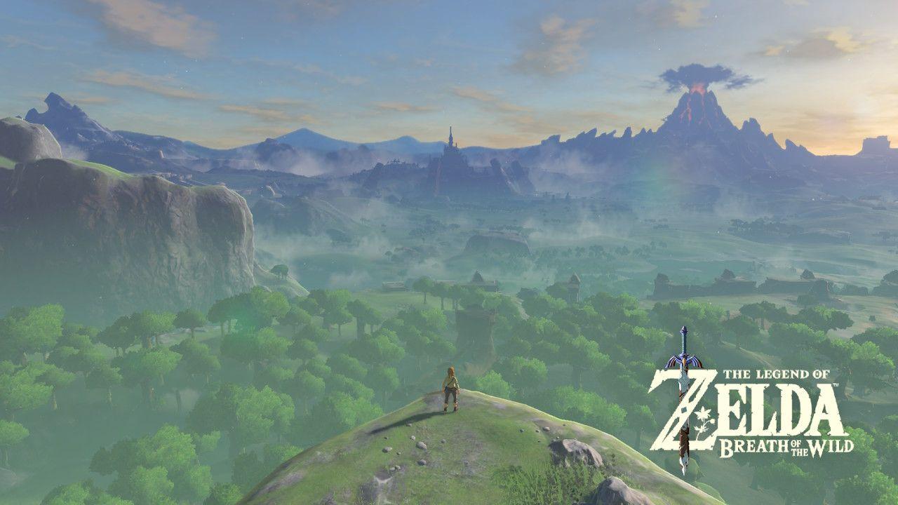 Prepare-se para ficar sem ar muitas vezes no jogo (Fonte: Reprodução/The Legend of Zelda: Breath of the Wild)