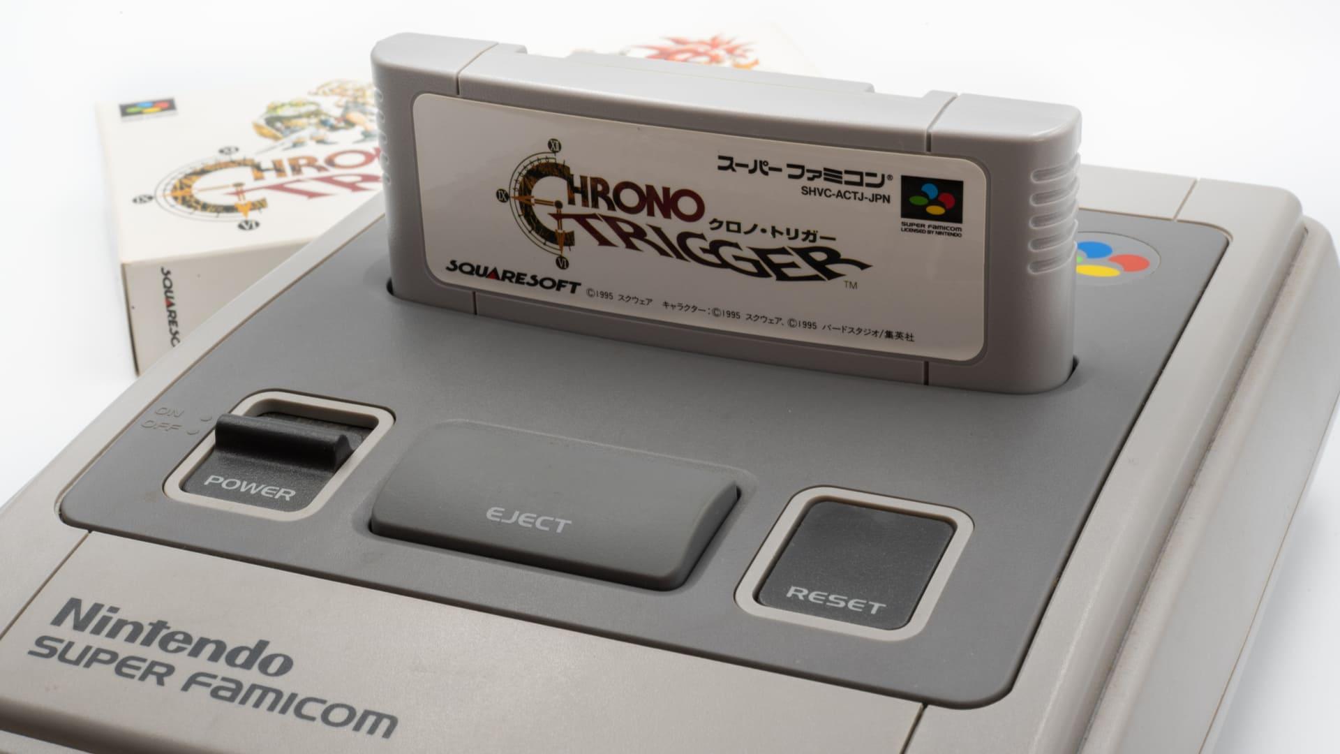 Chrono Trigger é um famoso RPG feito para o Super Nintendo (Foto: Shutterstock/Matthieu Tuffet)