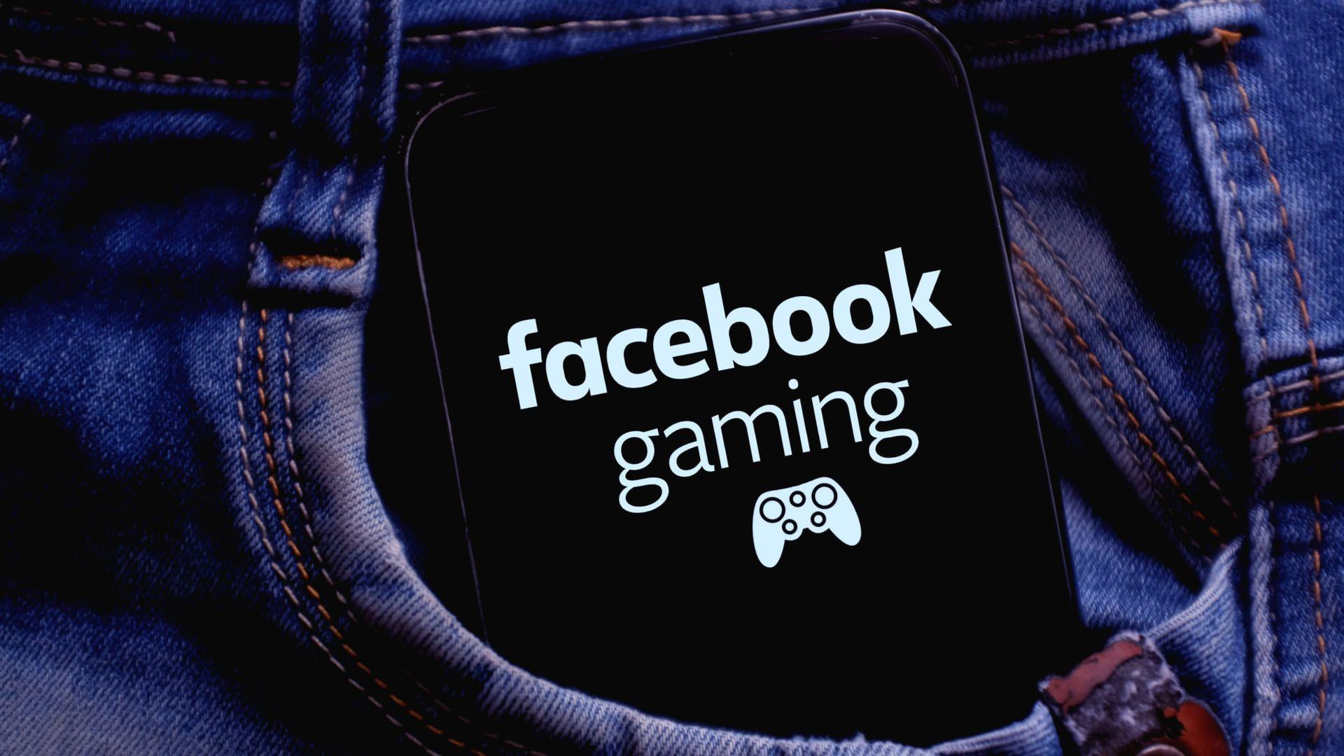 O Facebook Gaming é uma plataforma para transmitir de vídeos ao vivo. (Fonte: Shutterstock)