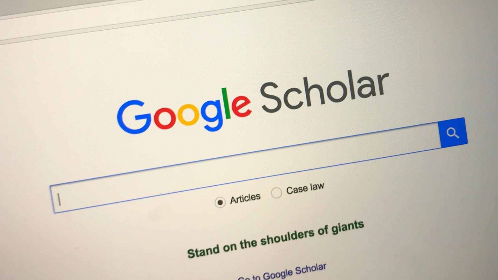 Entenda o que é Google Acadêmico, ou Google Scholar (Foto: Shutterstock)