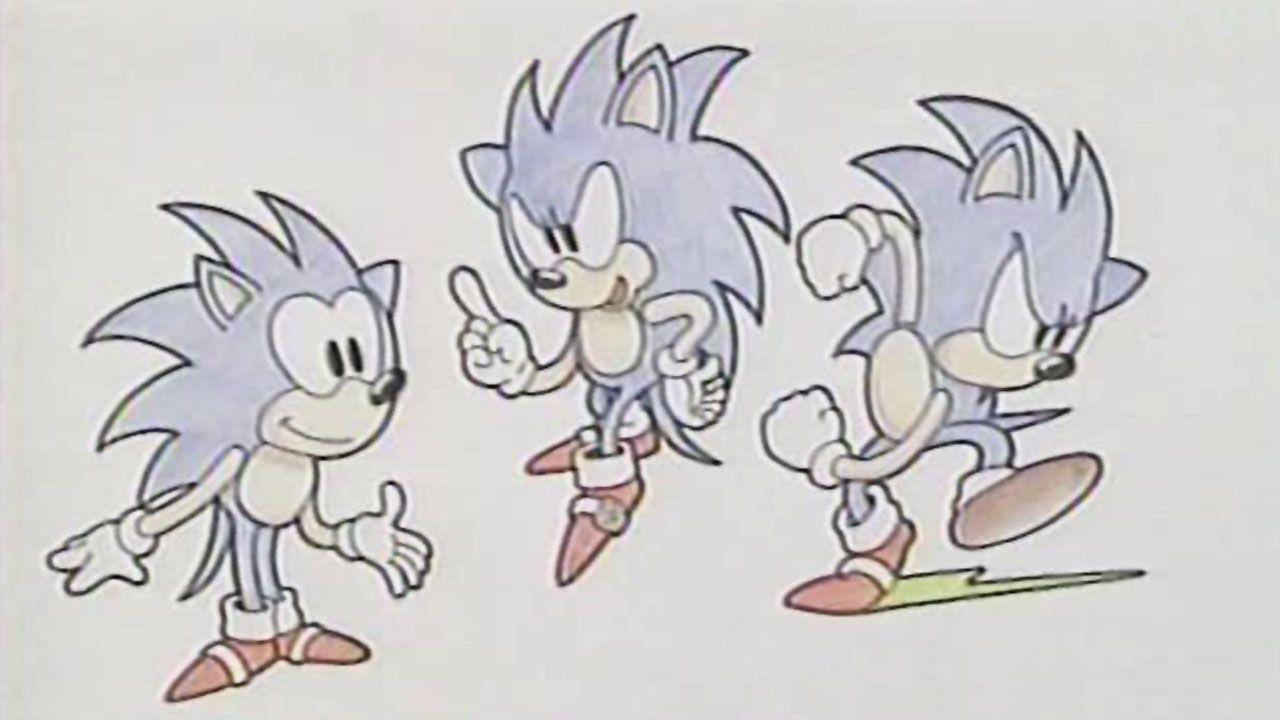 O nome Sonic surgiu da necessidade de transmitir a velocidade do personagem, após apelidos sobre a velocidade da luz não funcionarem (Reprodução: Sega Nerds)
