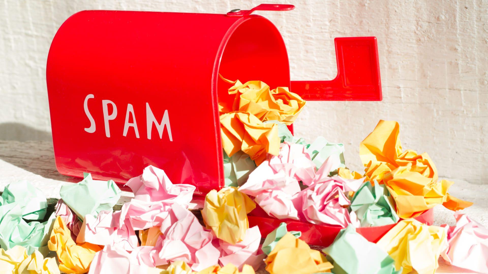 Além de saber o que é spam, é fundamental saber os diferentes formatos que ele possui (Fonte: Shutterstock)
