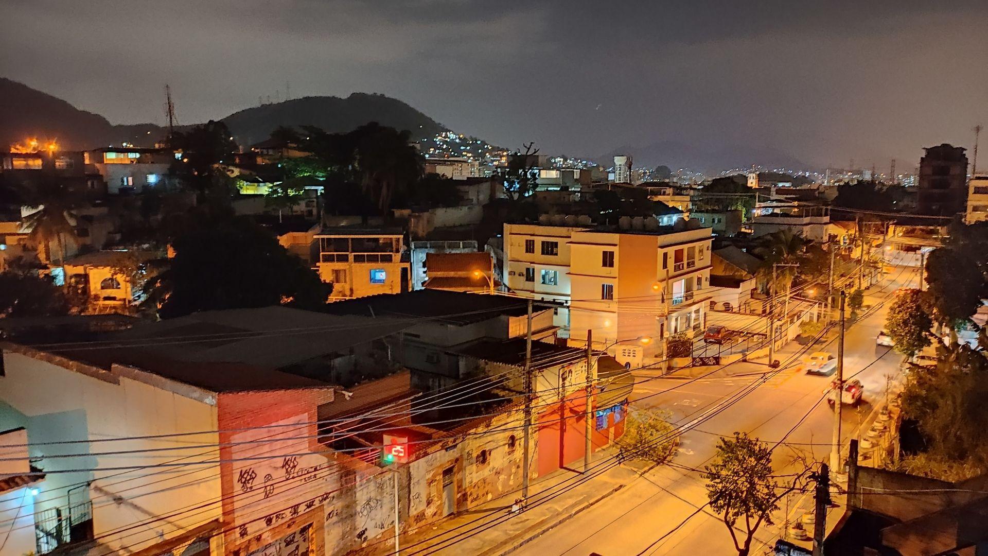 Foto tirada à noite com o Modo noturno do Poco X3 NFC (Foto: Zoom)