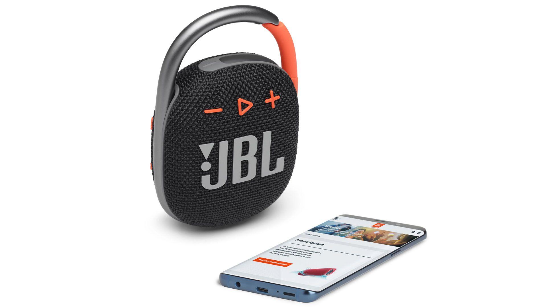 A JBL Clip 4 tem 5W de potência. (Foto: Divulgação/JBL)