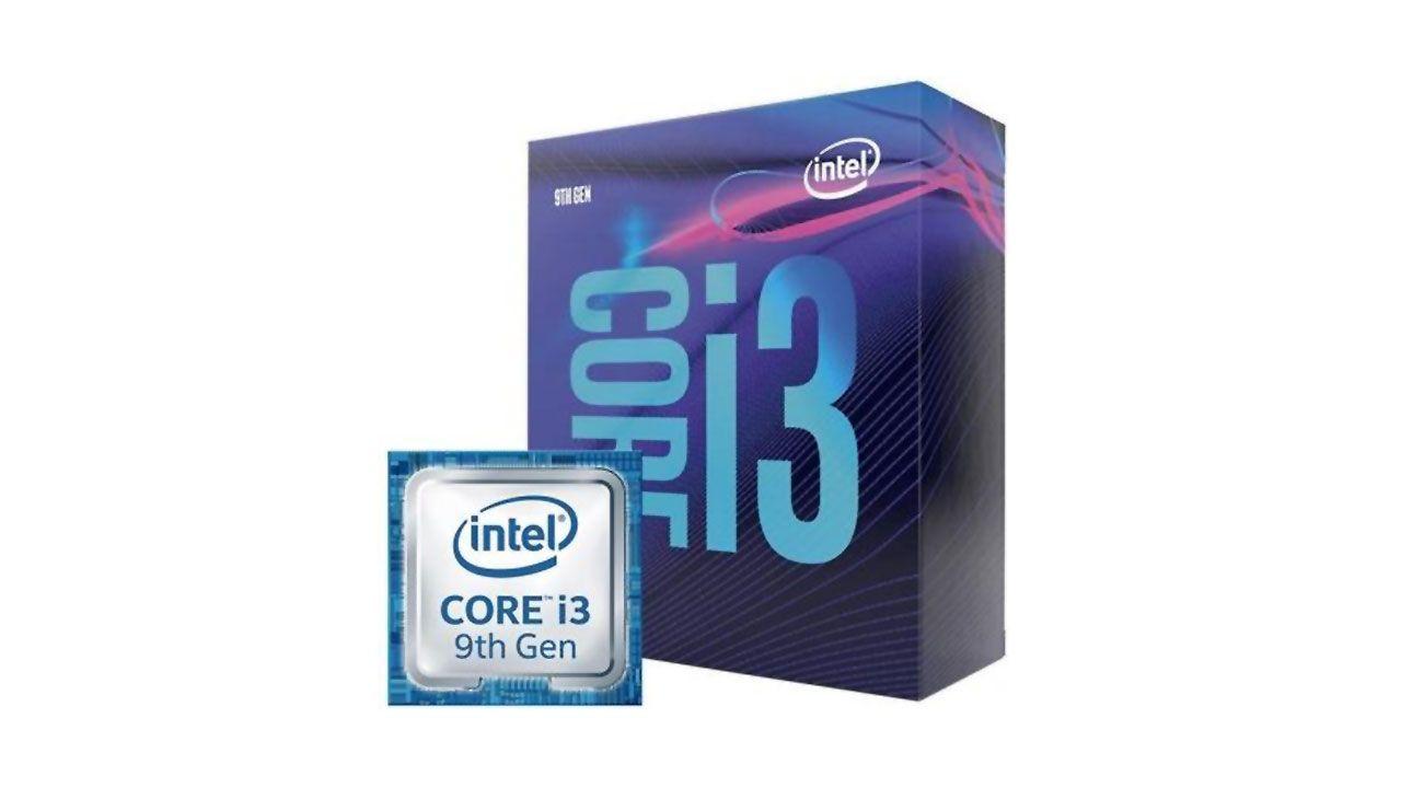 O Processador Intel Core i3-9100F é uma boa opção para PCs simples, porém há alternativas melhores (Reprodução: Kabum)