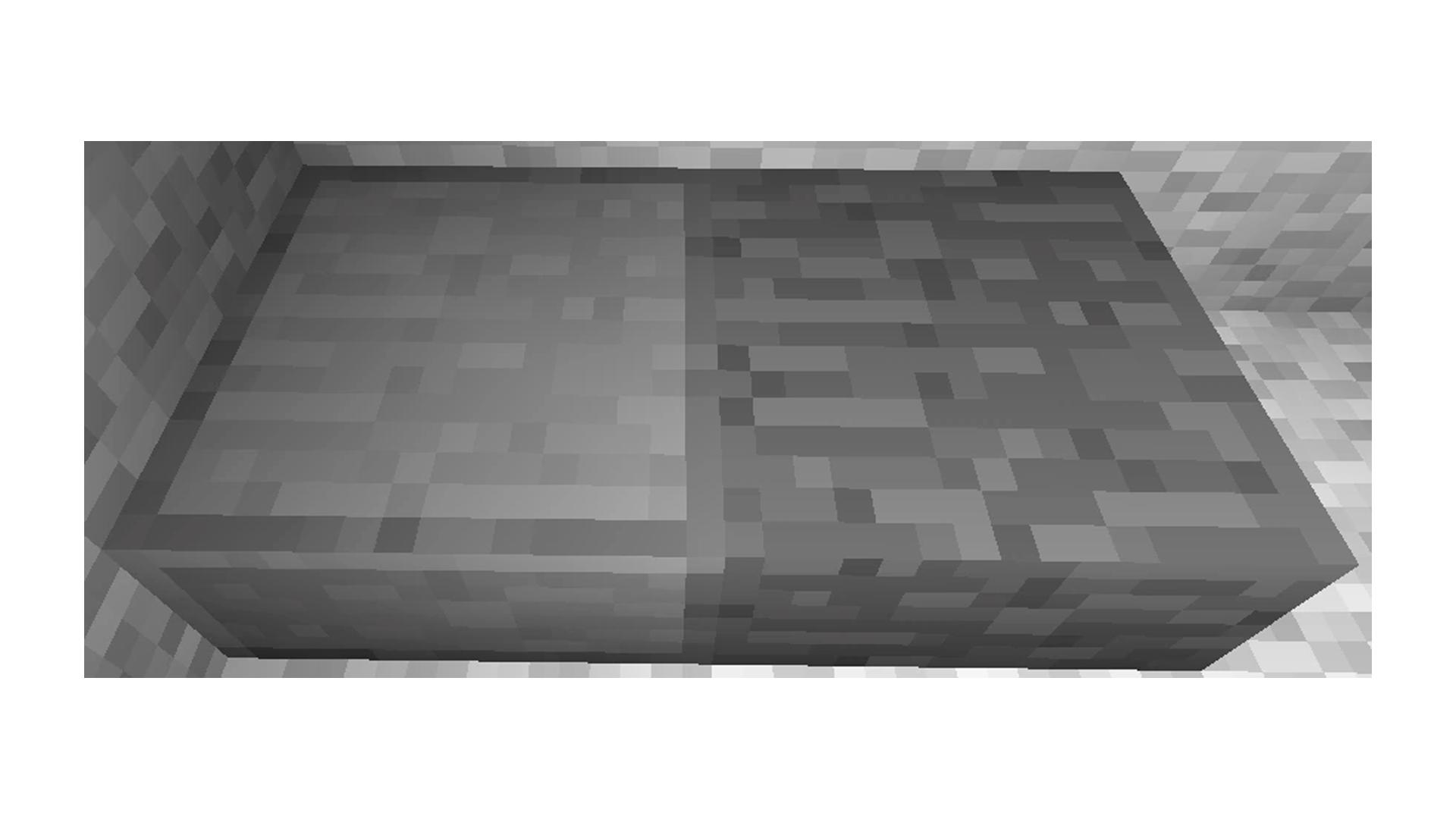 Saiba qual a diferença entre a Pedra Comum e a Pedra Lisa no Minecraft (Foto/Hugo Iwaasa)