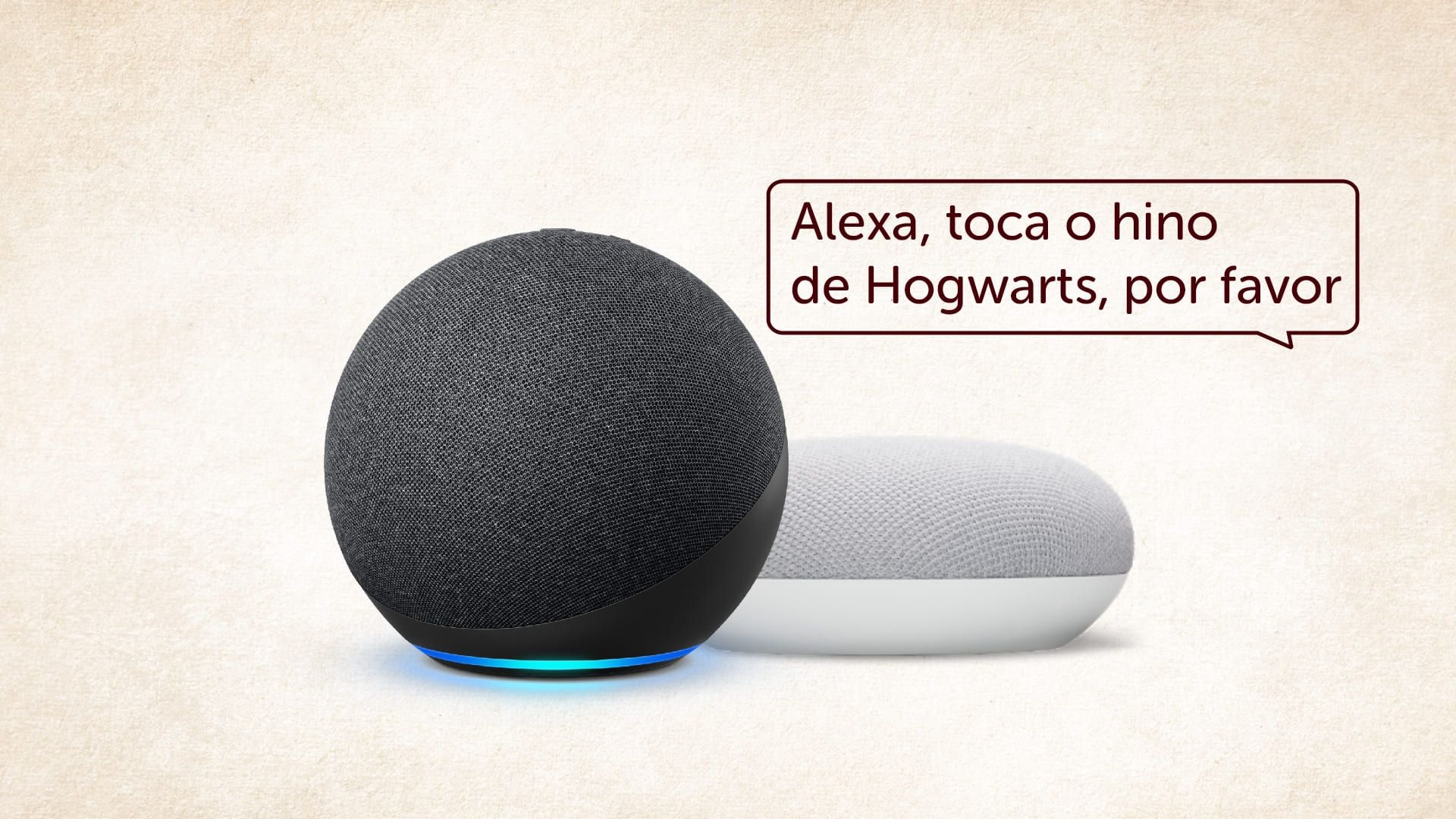 Com a Alexa você vai se sentir um verdadeiro bruxo