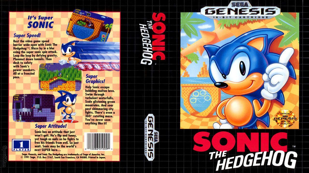 Sonic the Hedgehog foi criado para ser a mascote da Sega e levar o Mega Drive ao sucesso contra a Nintendo (Reprodução: Video Game Obsession)