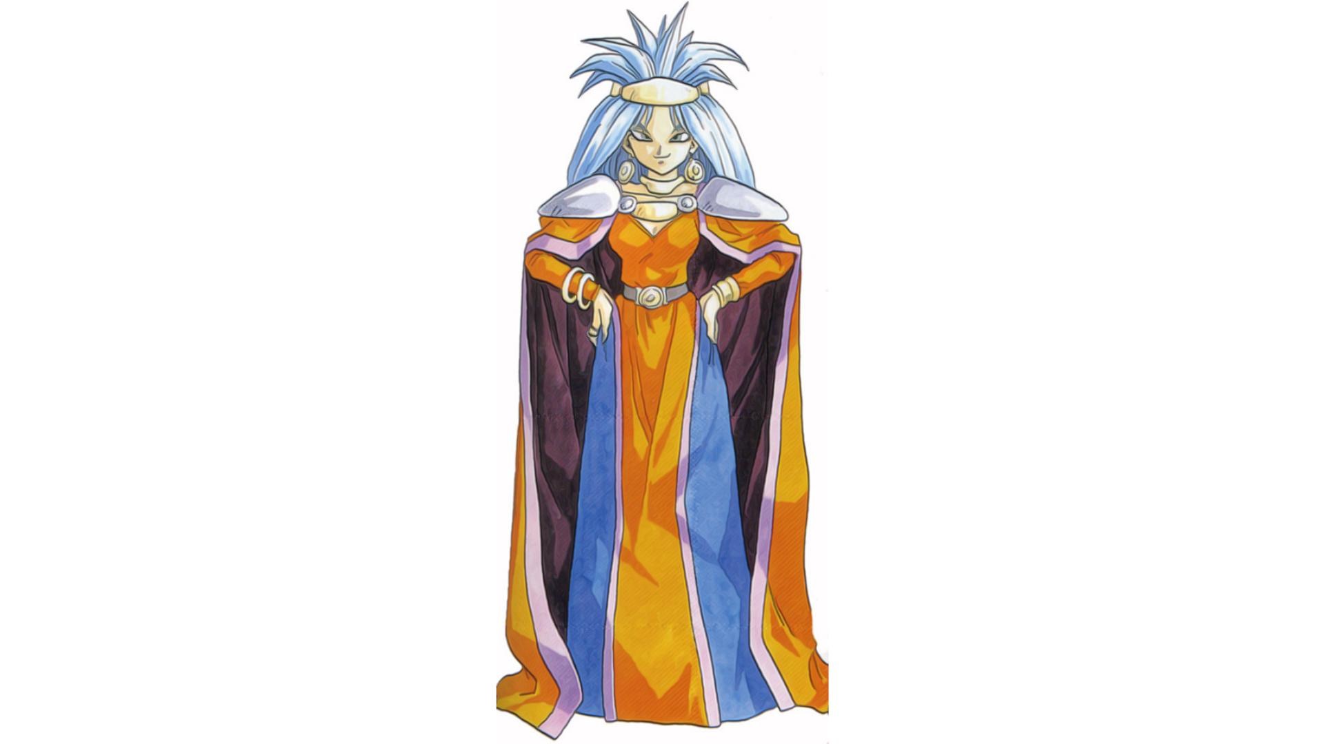 Zeal é uma rainha corrompida pelo poder (Foto: Divulgação/Square Enix)