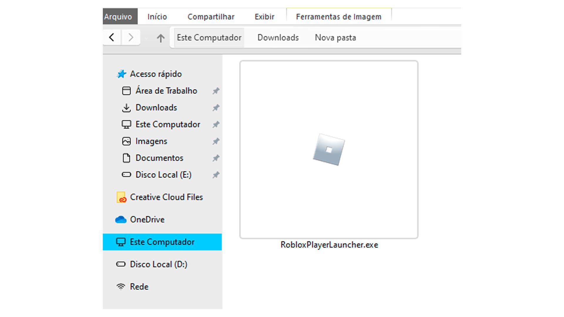 Clique duas vezes sobre o ícone para instalar (Foto/Hugo Iwaasa)