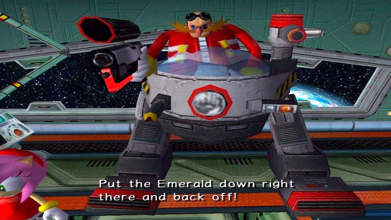Dr. Robotnik, ou Eggman, é o principal vilão no jogo do Sonic e chegou a ser jogável em Sonic Adventure 2 (Reprodução: Amino Apps)