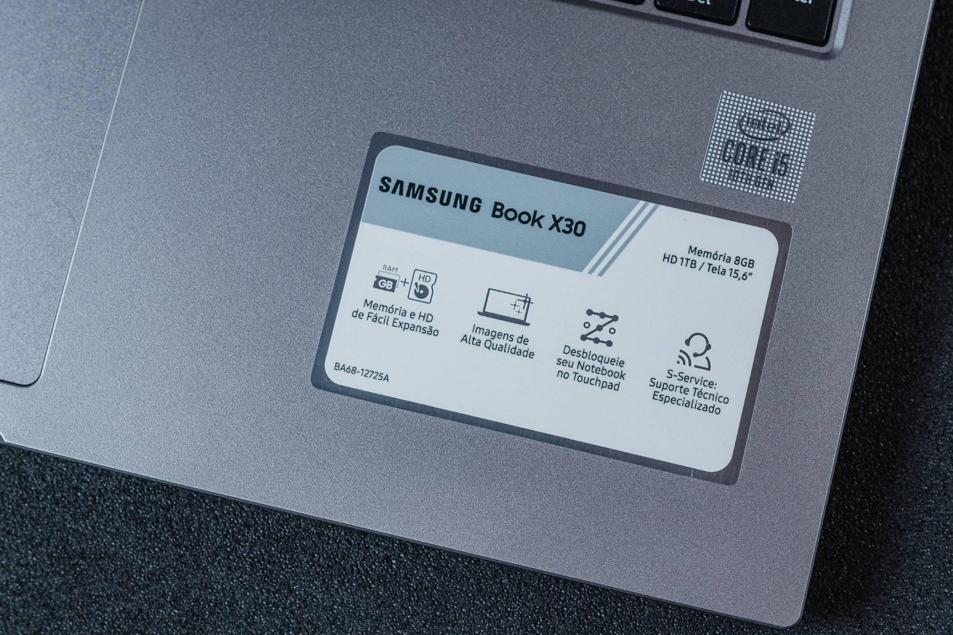 O notebook Samsung Book X30 apresenta boa performance, mas seria melhor ainda se o HD fosse trocado por um SSD