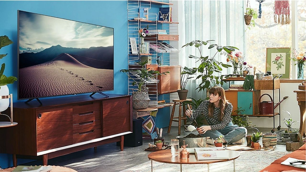 As TVs Crystal UHD contam com Upscalling, para melhorar a qualidade das imagens exibidas (Foto: Reprodução/Samsung)
