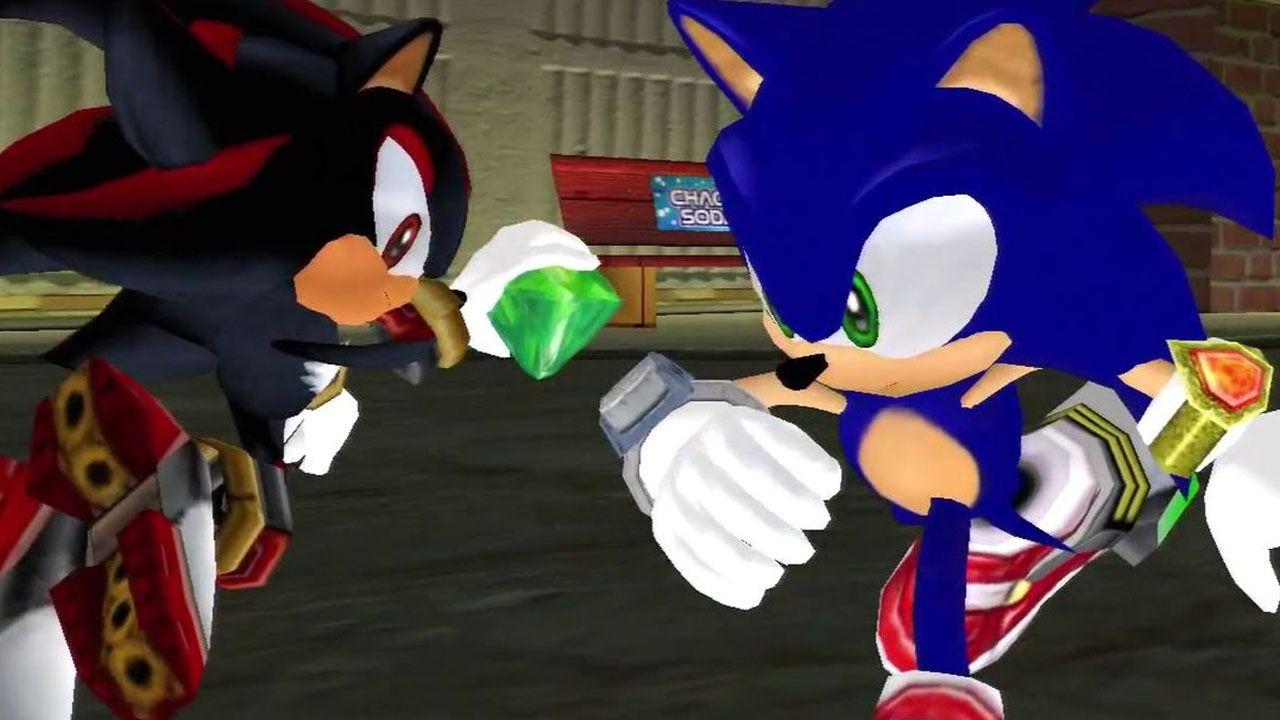 Shadow foi apresentado em Sonic Adventure 2 como um rival de Sonic e se tornou um grande favorito do público (Reprodução: Polygon)