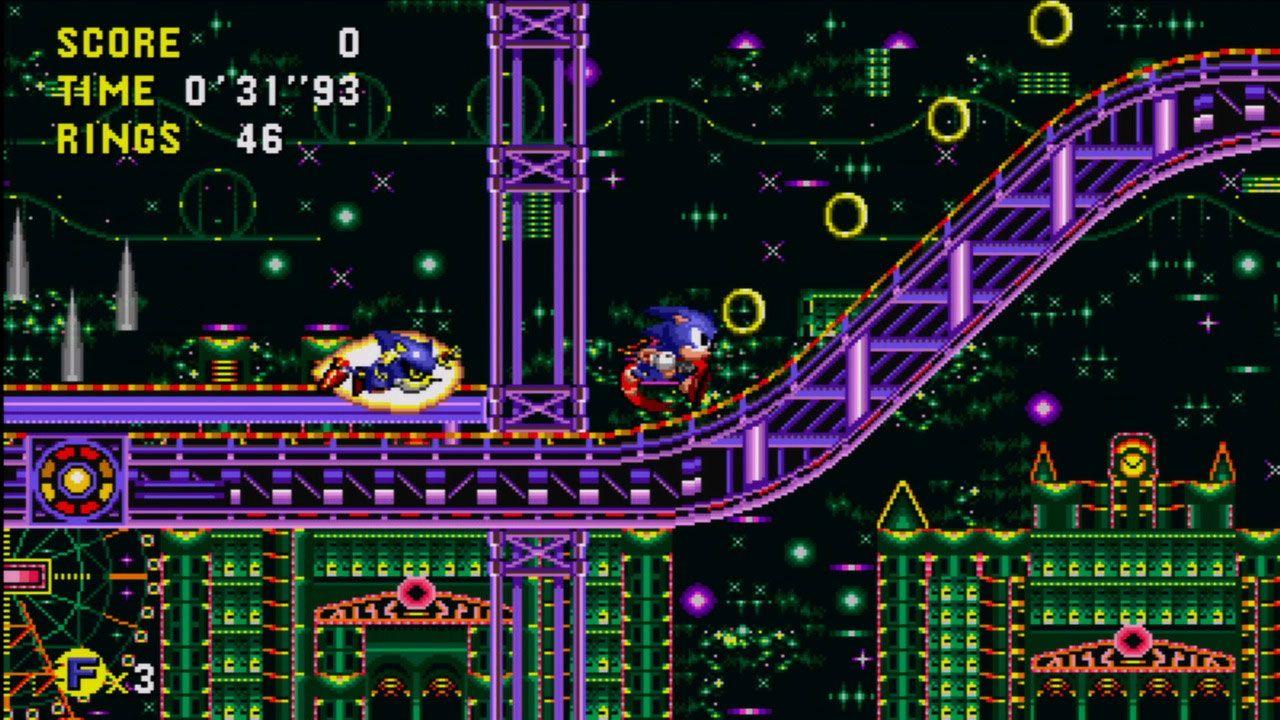 Sonic CD é considerado por muitos fãs como o jogo do Sonic definitivo (Reprodução: Steam)
