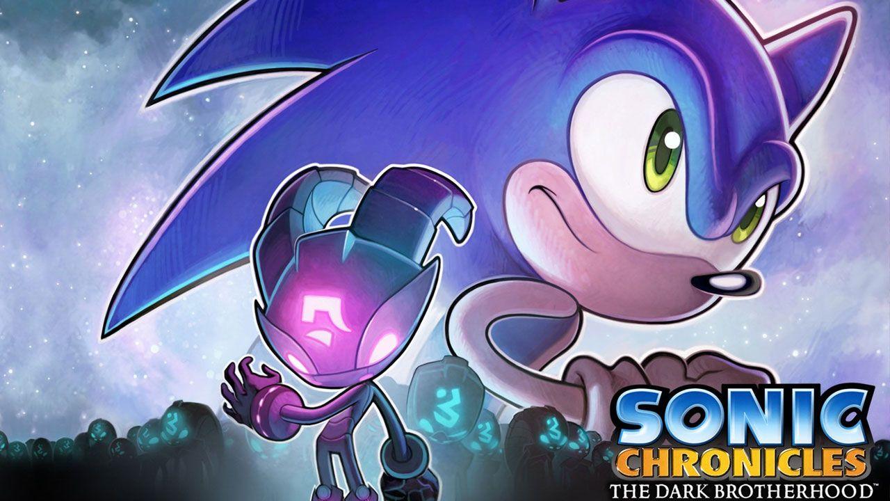Sonic Chronicles: The Dark Brotherhood marcou a primeira vez que a franquia se aventurou em um RPG (Reprodução: Wallpaper Abyss)