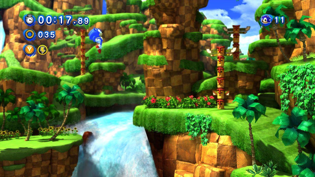 Sonic Generations é o jogo do Sonic que uniu os fãs dos games 2D e 3D em um único título (Reprodução: Steam)