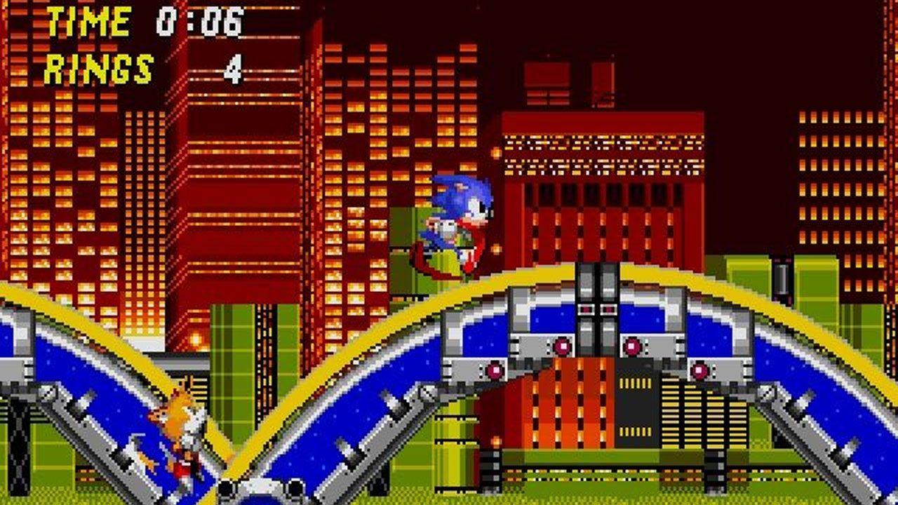 Sonic the Hedgehog 2 introduziu jogadores à raposinha Tails e expandiu o sucesso do original em todos os sentidos (Reprodução: Steam)