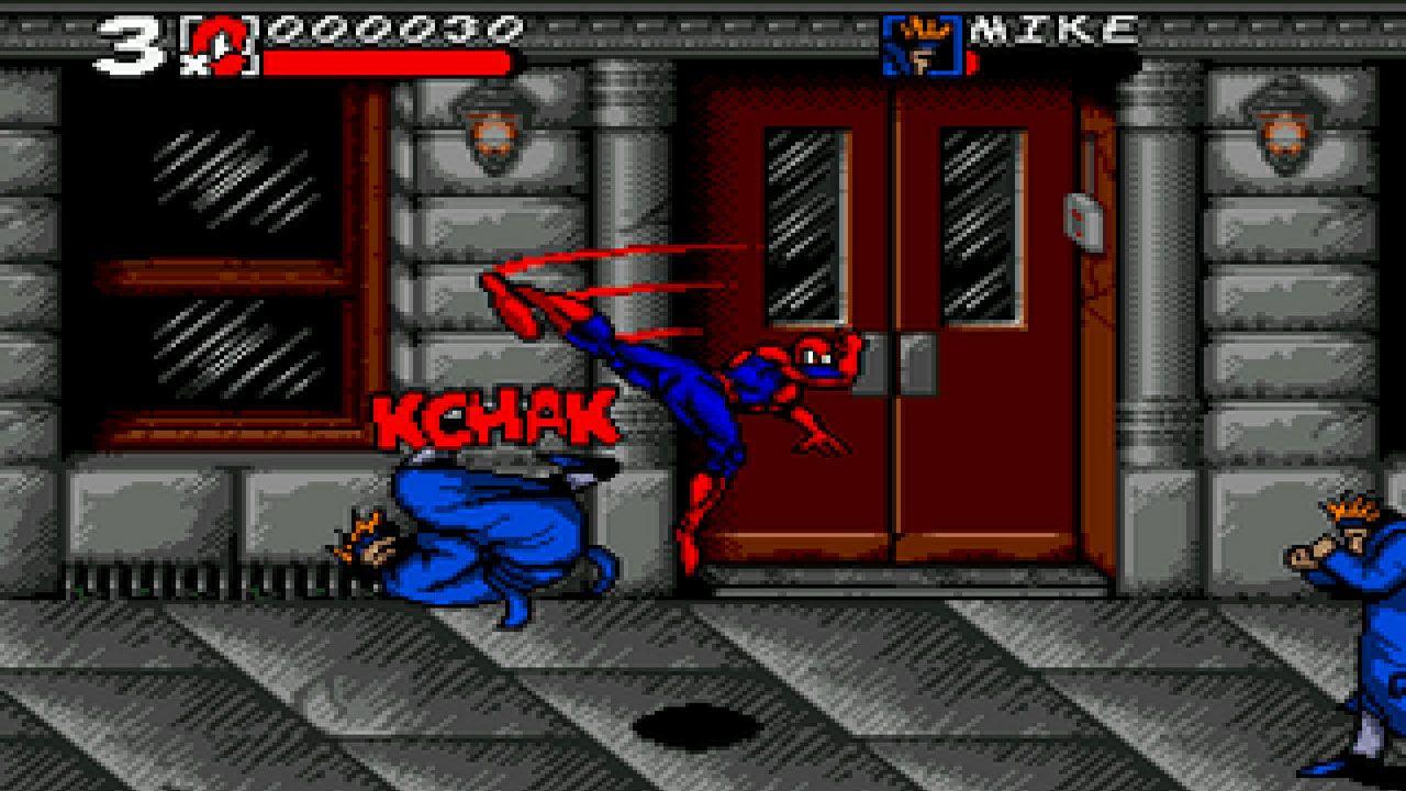 Spider-Man and Venom: Maximum Carnage foi um ótimo jogo do Homem-Aranha para os 16 Bits (Reprodução: Retroplace)