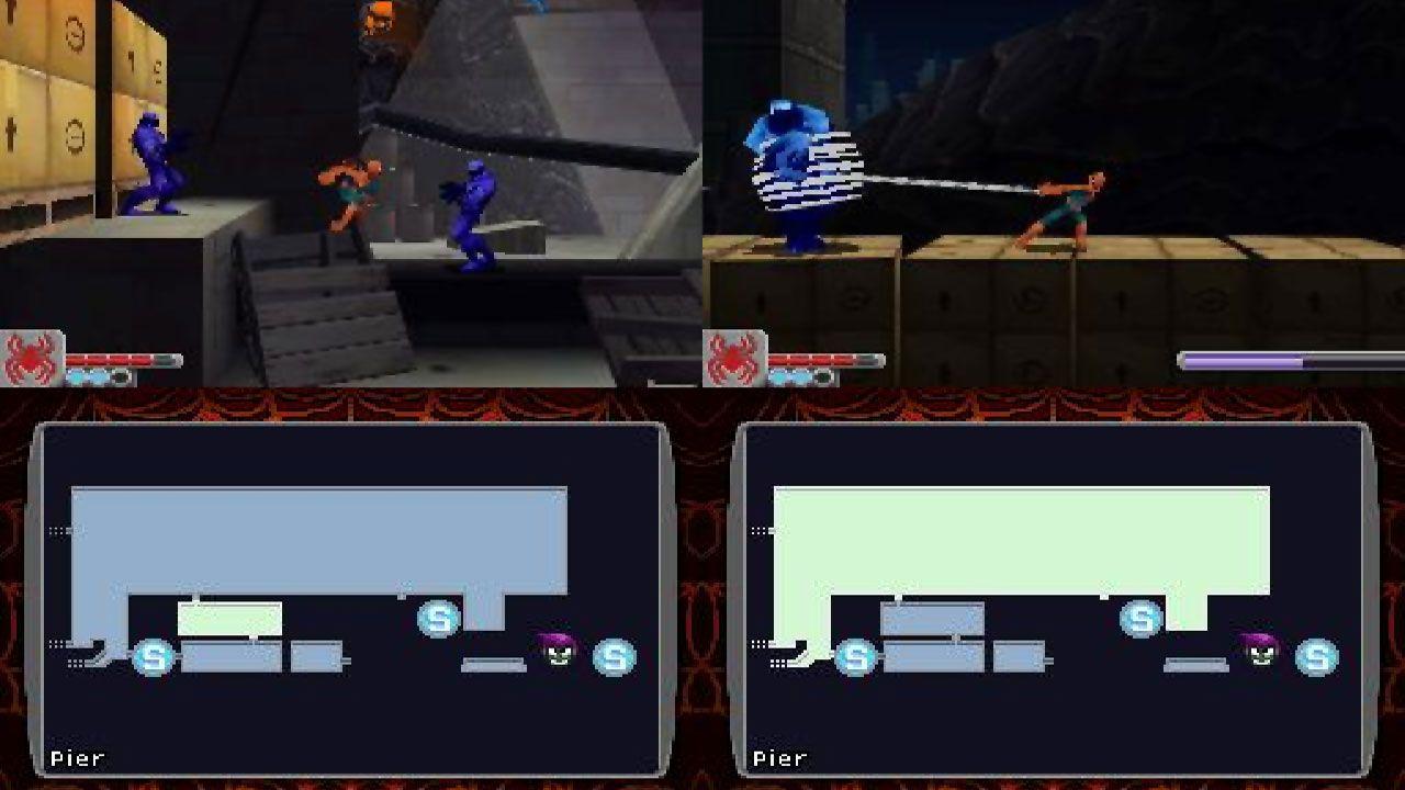 """Spider-Man: Web of Shadows foi um jogo do Homem-Aranha que surpreendeu no Nintendo DS com elementos estilo """"Metroidvania"""" (Reprodução: Moby Games)"""