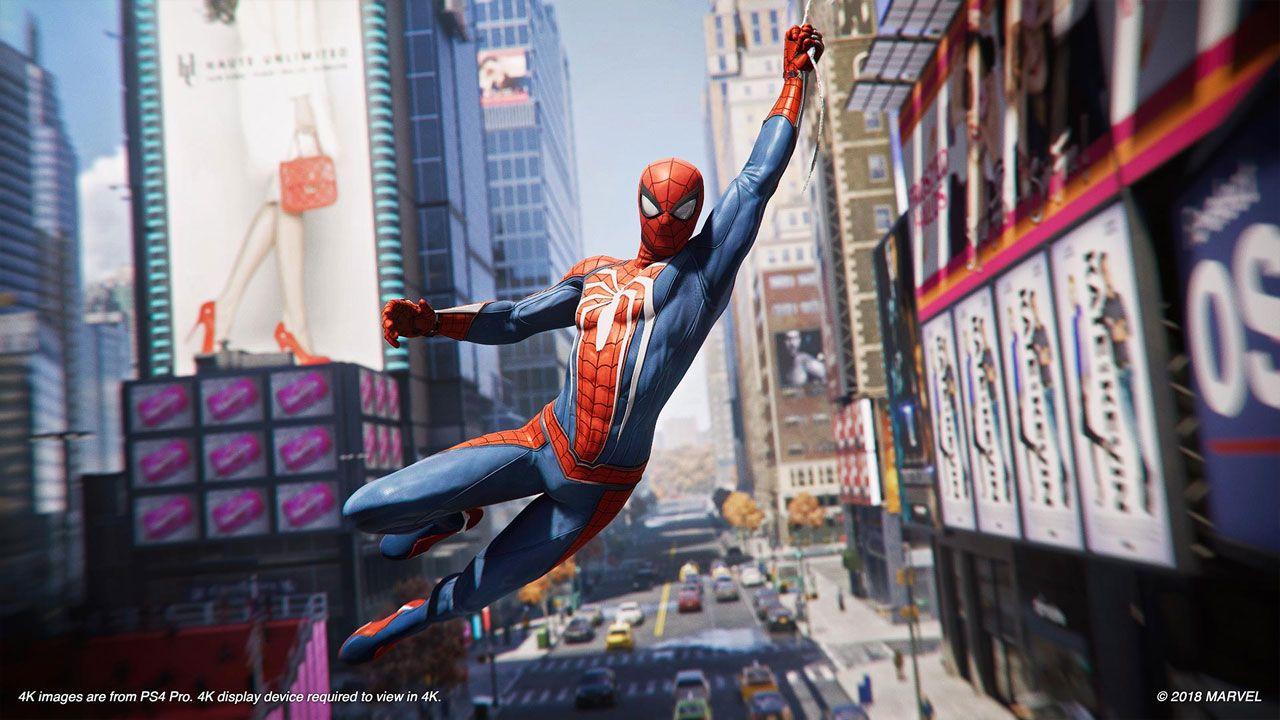 Spider-Man se tornou um dos melhores jogos de ação do PS4 e PS5, além de provavelmente ser o melhor jogo do Homem-Aranha (Reprodução: PlayStation Store)