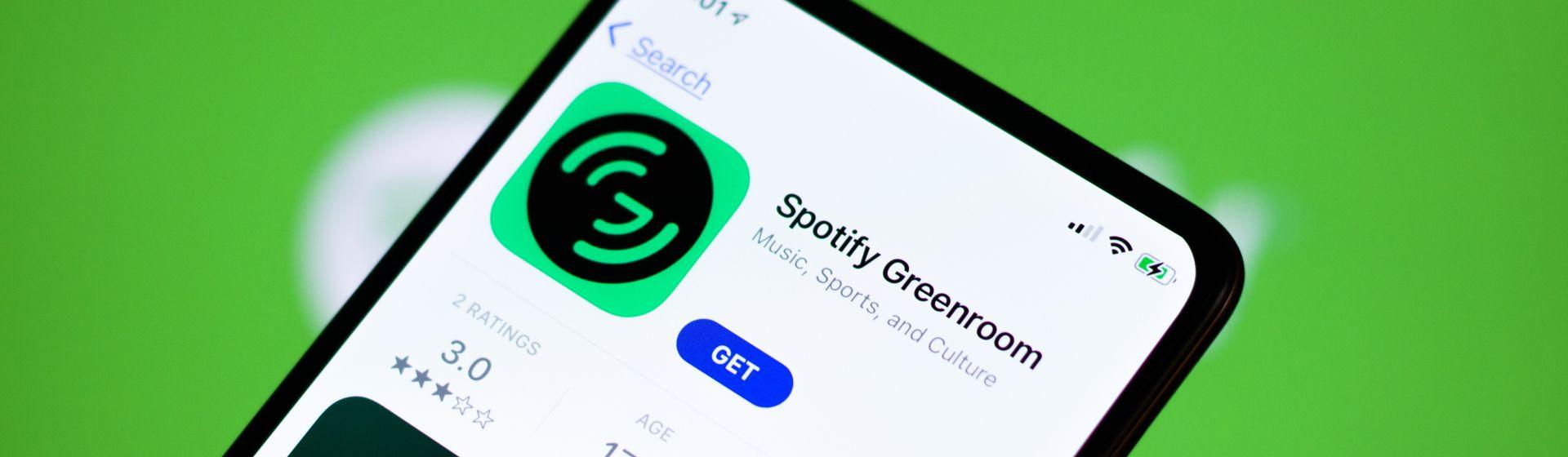 Spotify Greenroom: tudo sobre o rival do Clubhouse