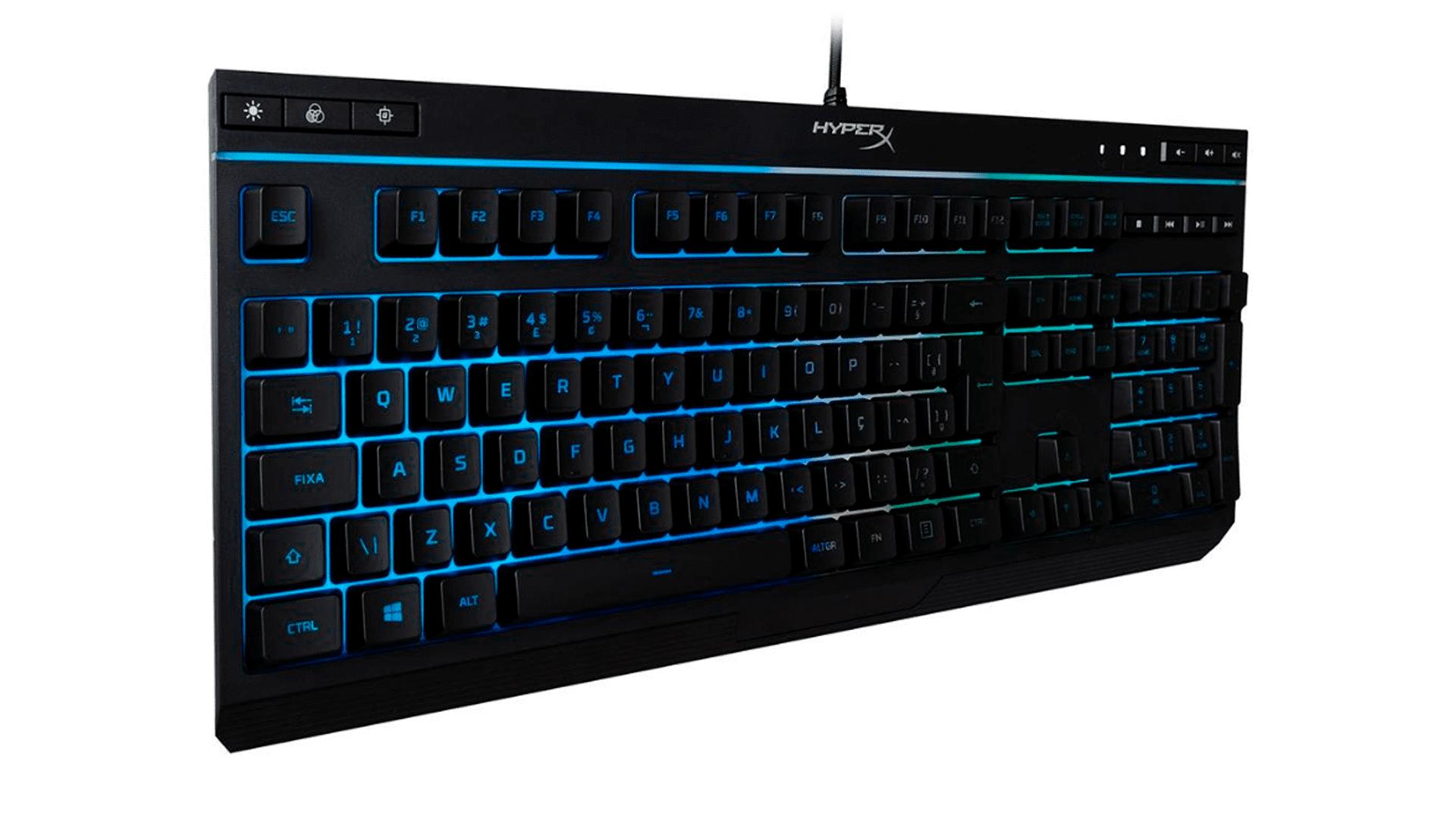 Desempenho e estilo alinhados no teclado gamer HyperX Alloy Care (Foto: Divulgação/HyperX)