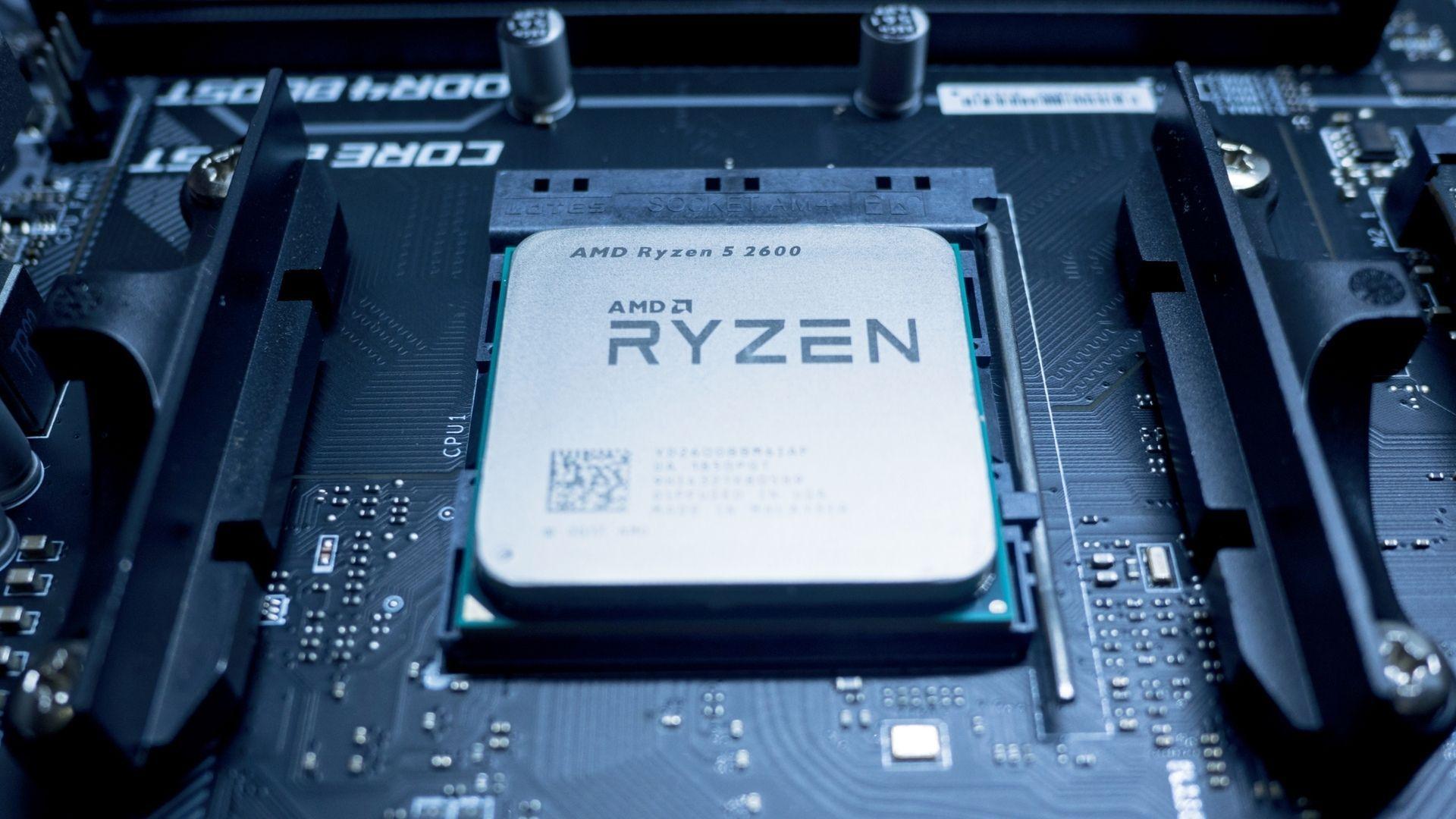 O AMD Ryzen 5 2600 suporta até 95°C de temperatura e possui 65W de TDP (Foto: Divulgação/Shutterstock)