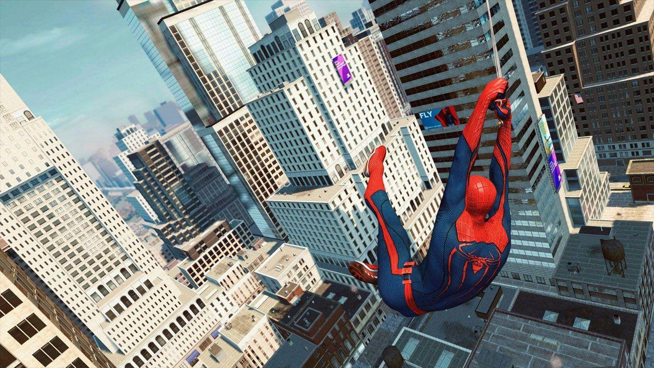 The Amazing Spider-Man trouxe tudo que se espera de um jogo do Homem-Aranha, inclusive um grande mundo aberto para explorar (Reprodução: Wallpaper Cave)