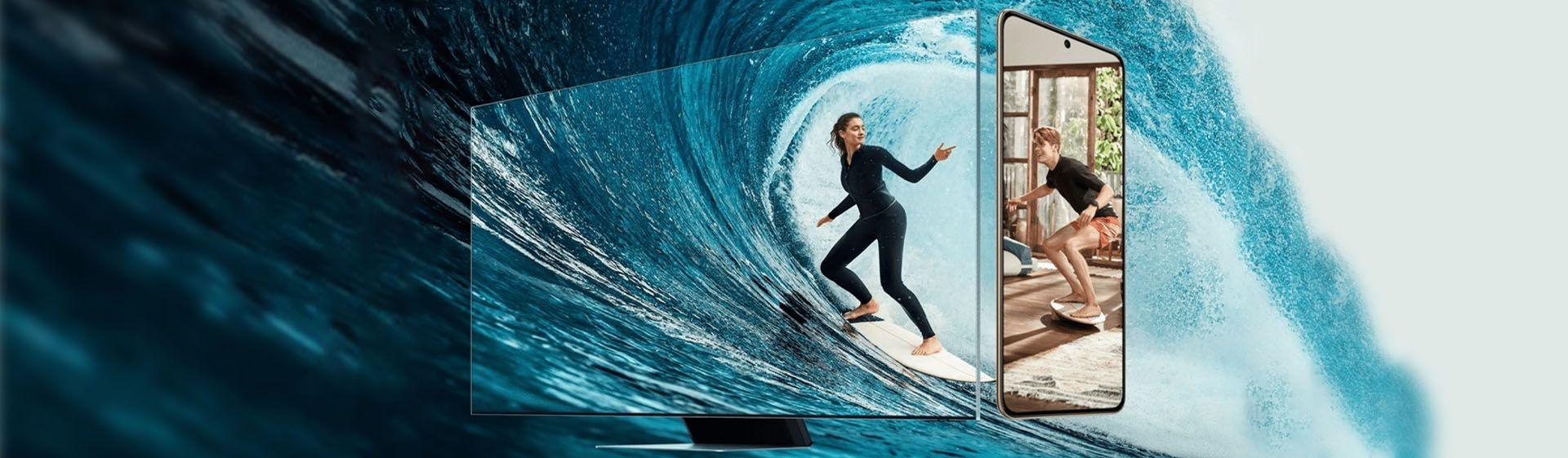 Samsung lança pacote com TV Neo QLED 8K e smartphone Galaxy S21