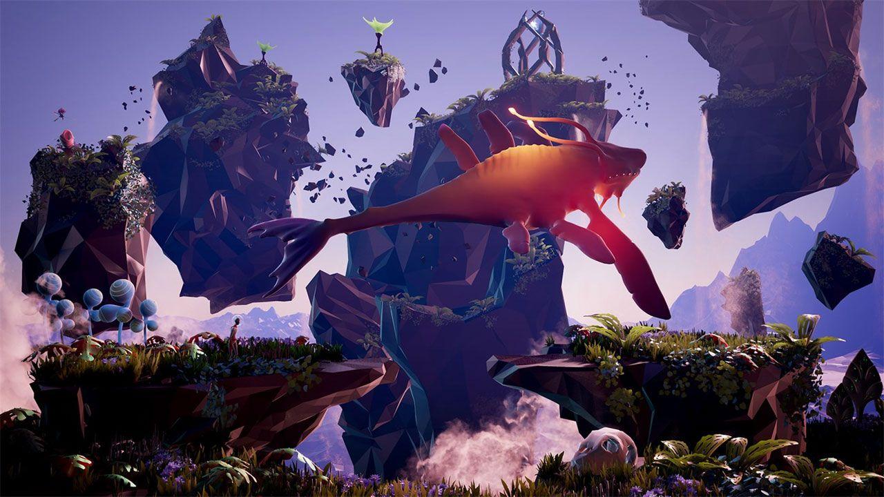 Planet Alpha é um belo jogo de aventura e plataforma em um mundo alienígena, grátis durante todo o mês de julho na Xbox Live Gold (Reprodução: Xbox Games Store)
